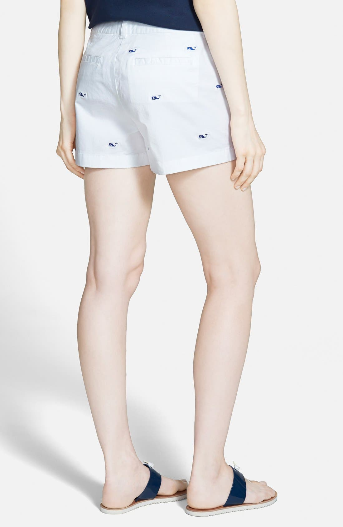 Alternate Image 2  - Vineyard Vines 'Dayboat' Embroidered Shorts