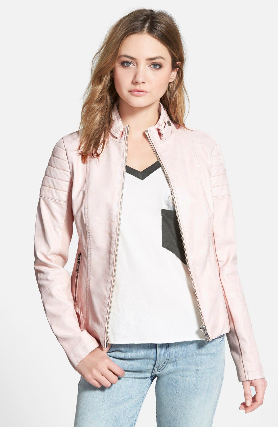 Main Image - Sam Edelman Faux Leather Jacket