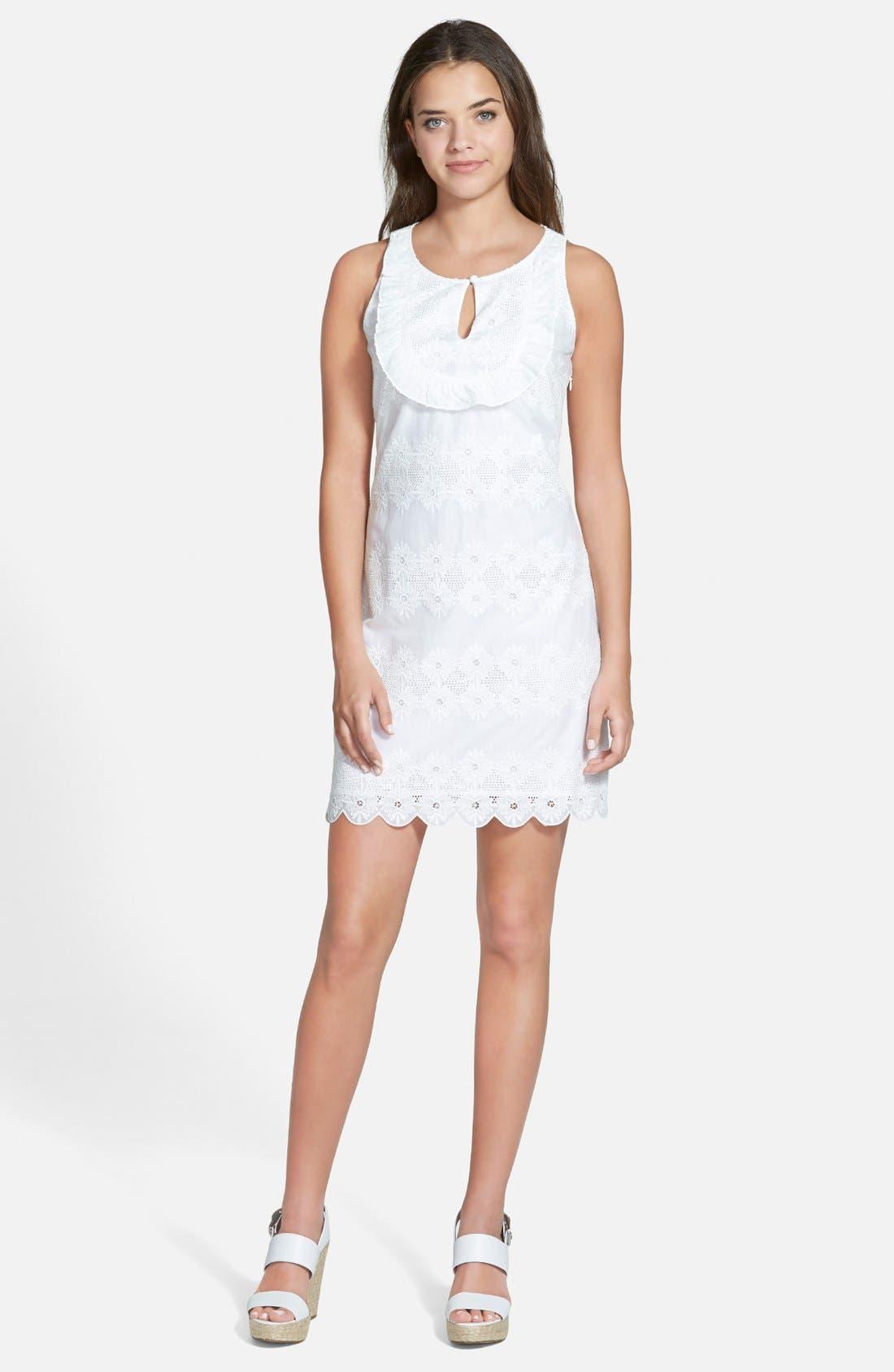 Main Image - Vineyard Vines Ruffle Shift Dress
