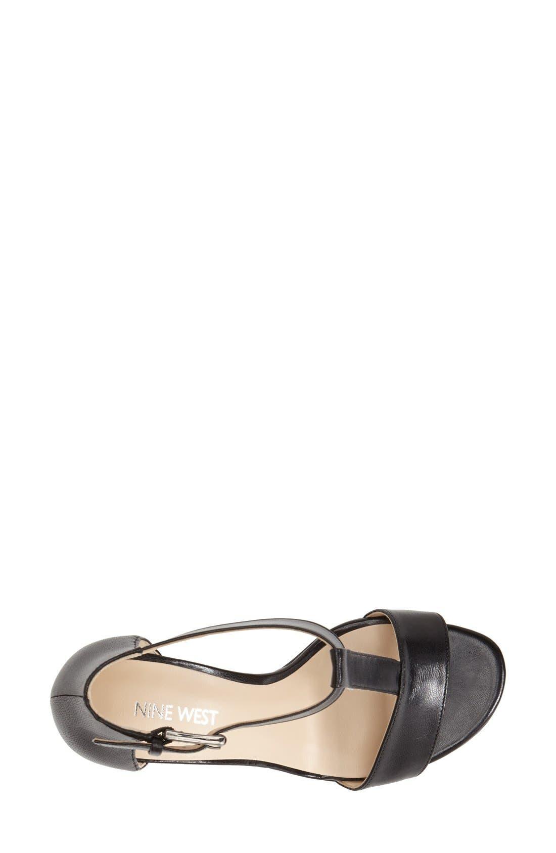 Alternate Image 3  - Nine West 'Brannah' T-Strap Sandal (Women)