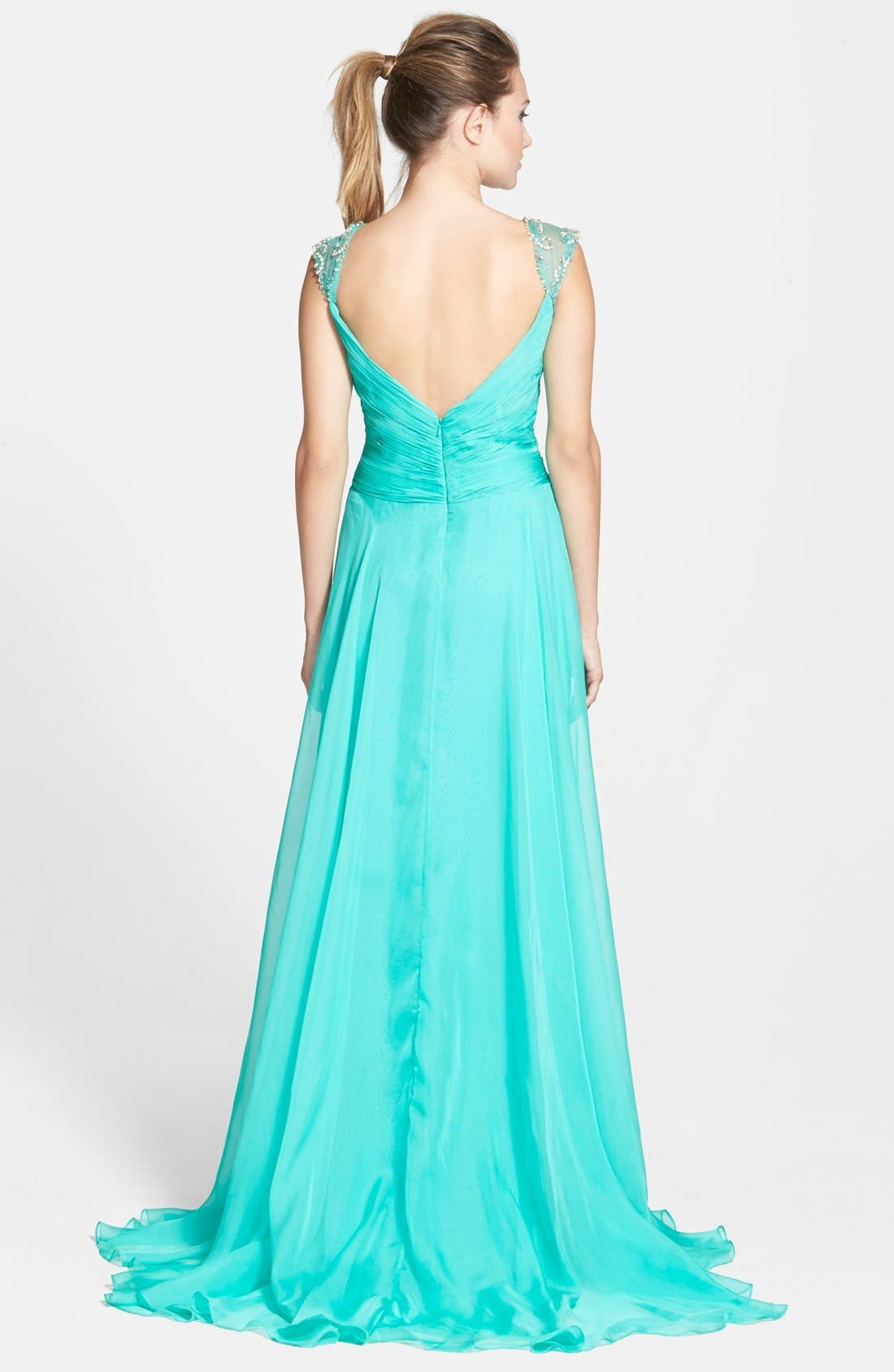 Alternate Image 2  - Mac Duggal Embellished Gown