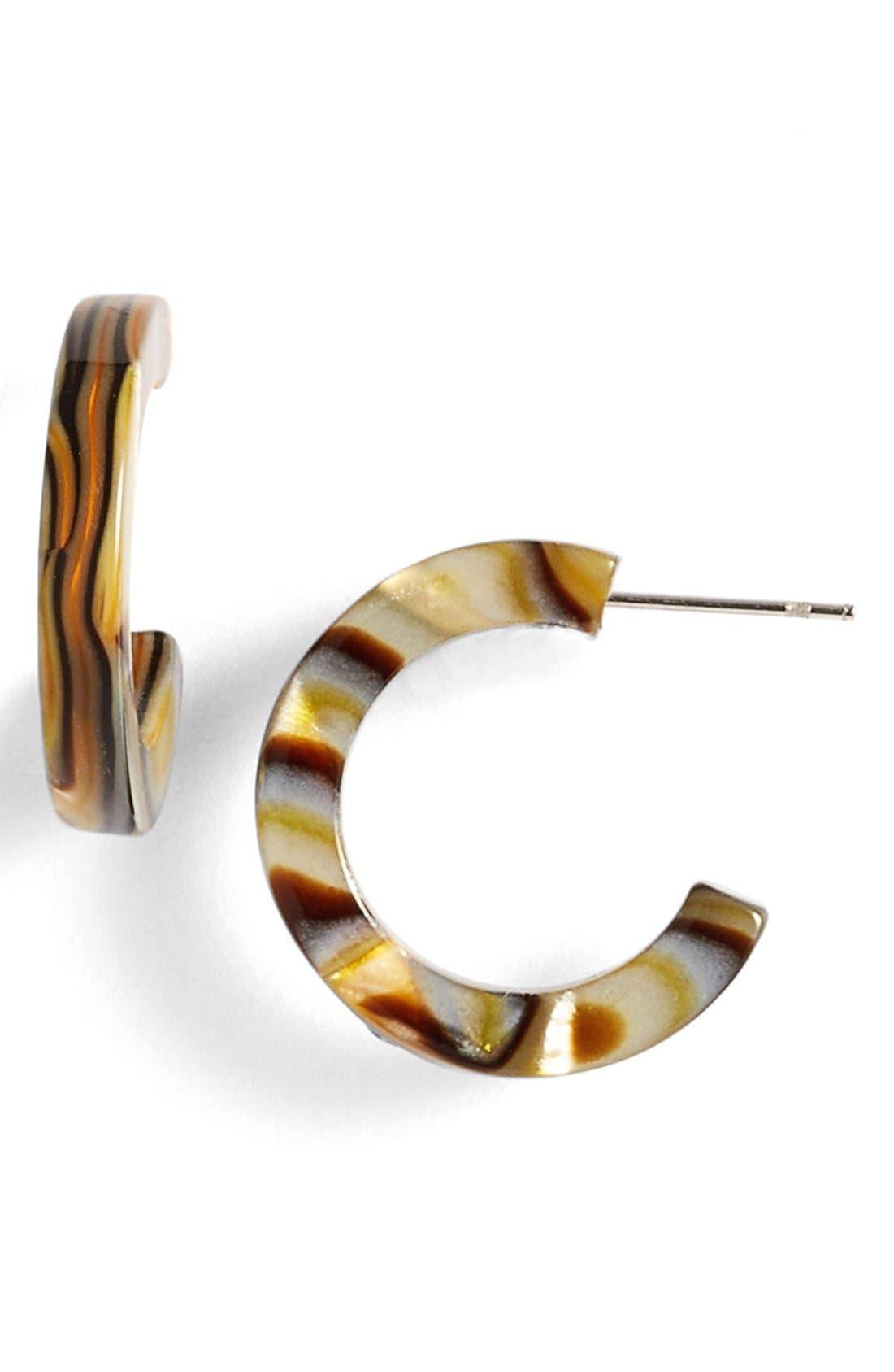 L. Erickson 'Skinny' Mini Hoop Earrings