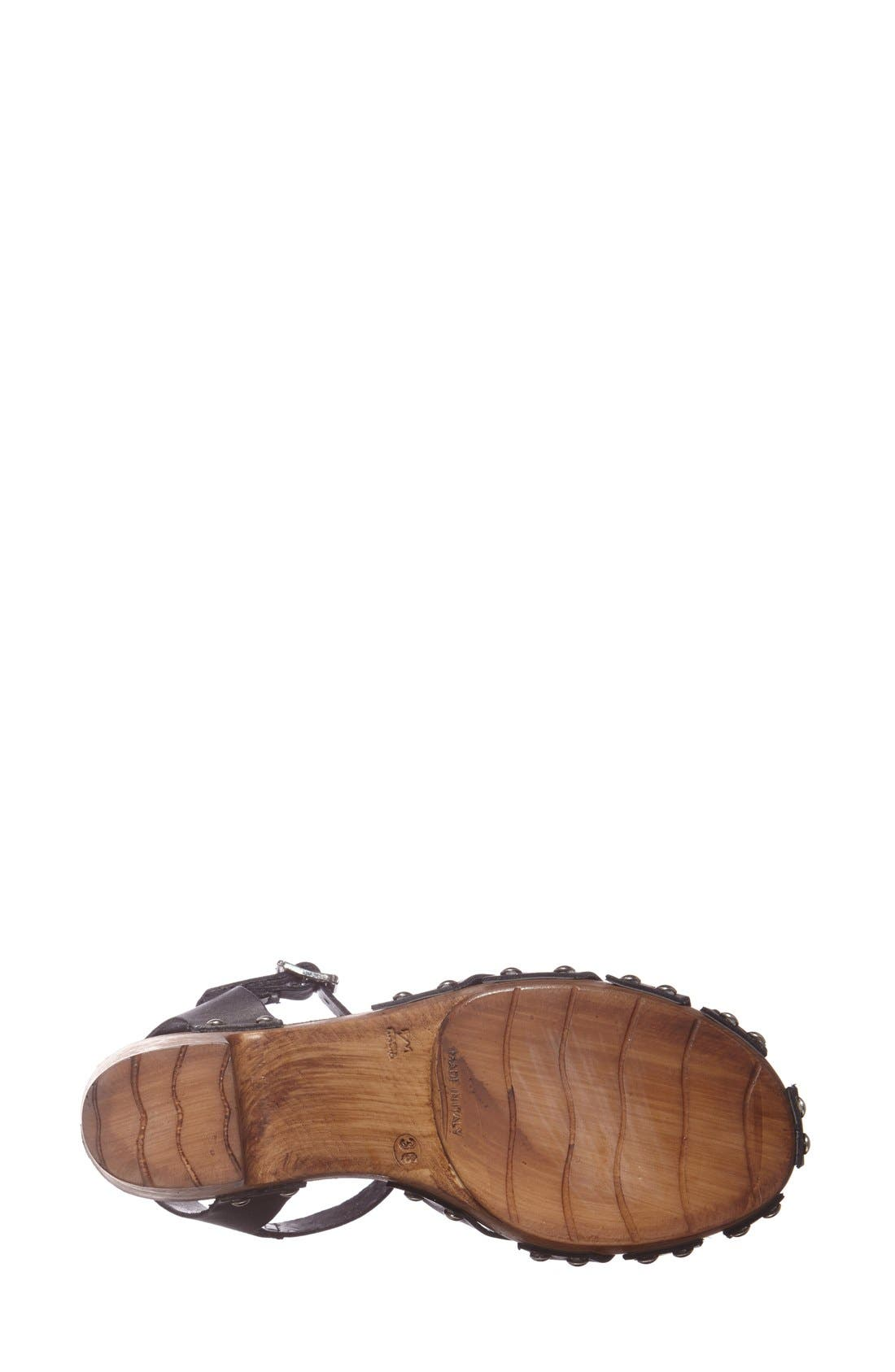 Alternate Image 4  - Topshop 'Nelly' Leather Platform Sandal (Women)