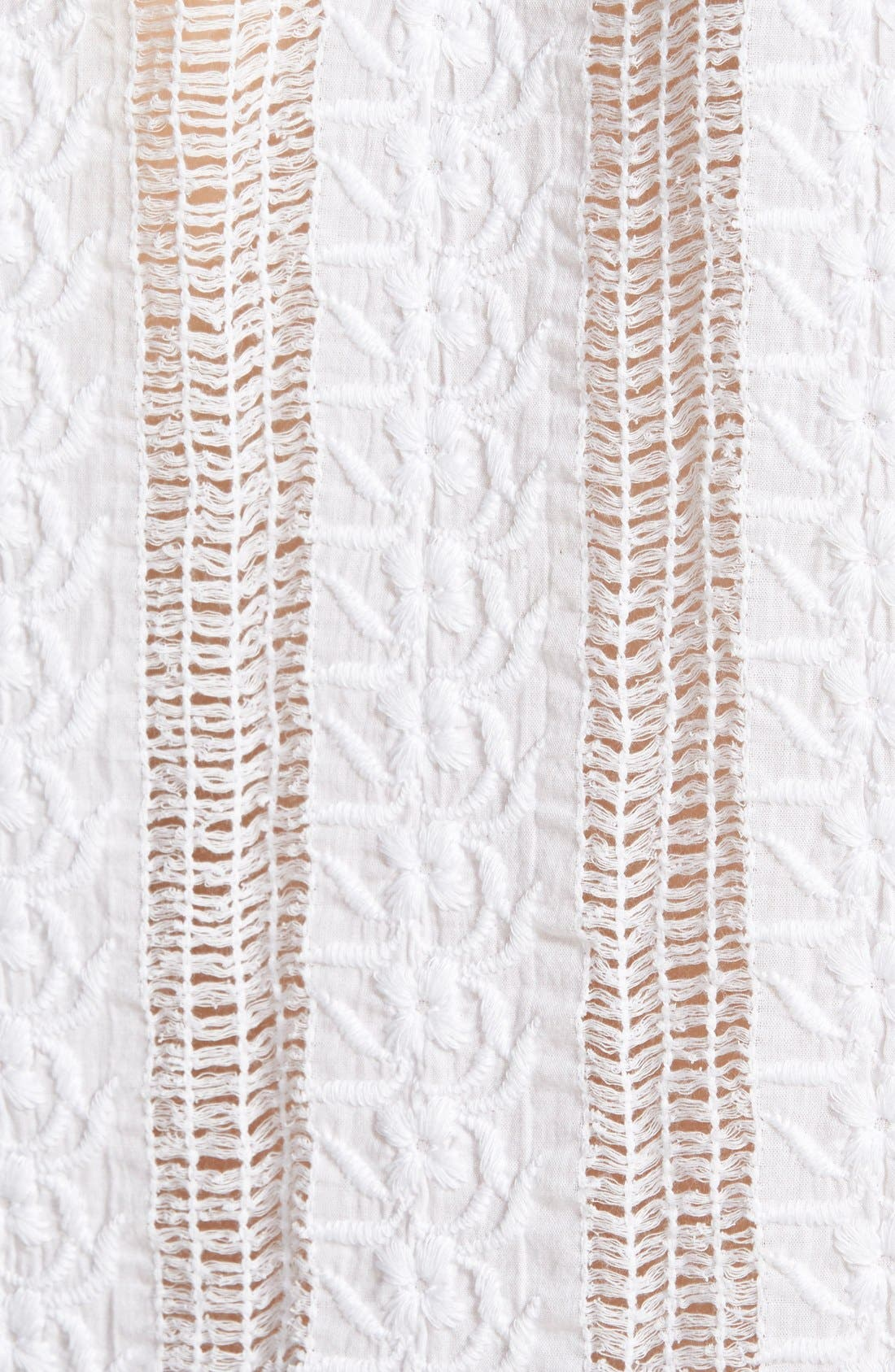 Alternate Image 3  - Madewell Lace Side Tie Crop Tee