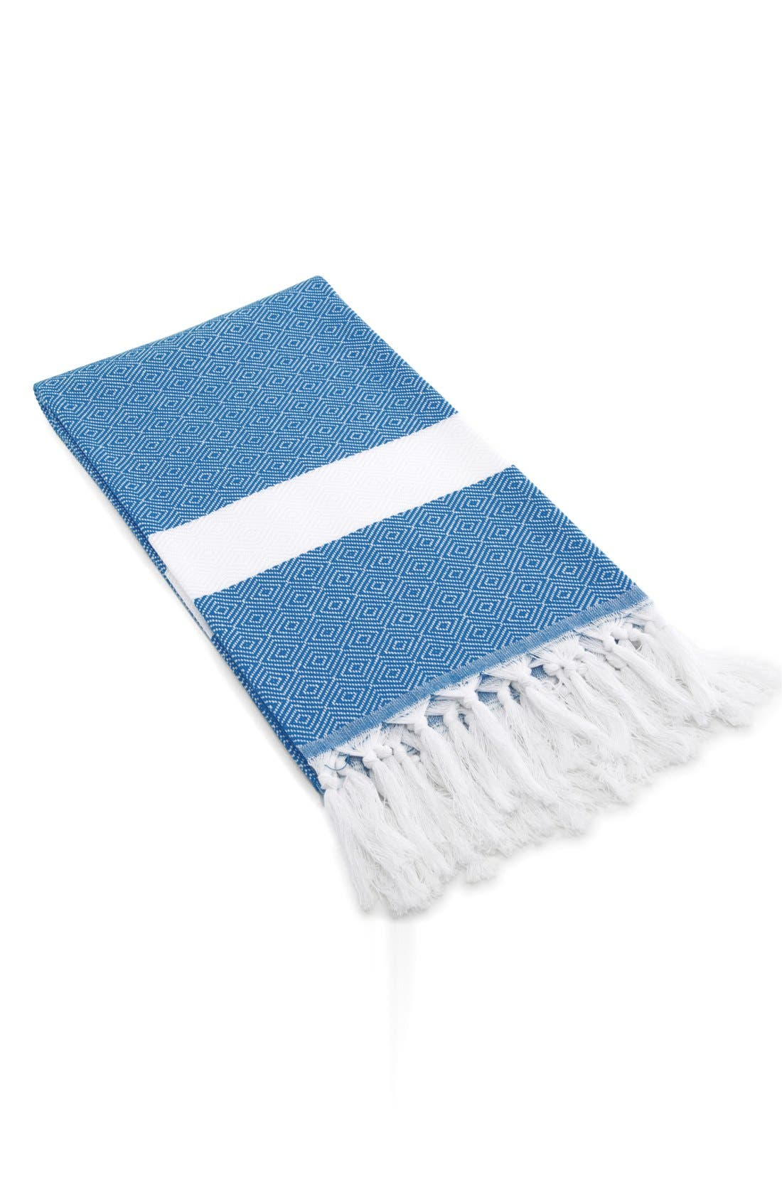 Linum Home Textiles 'Diamond' Turkish Pestemal Towel