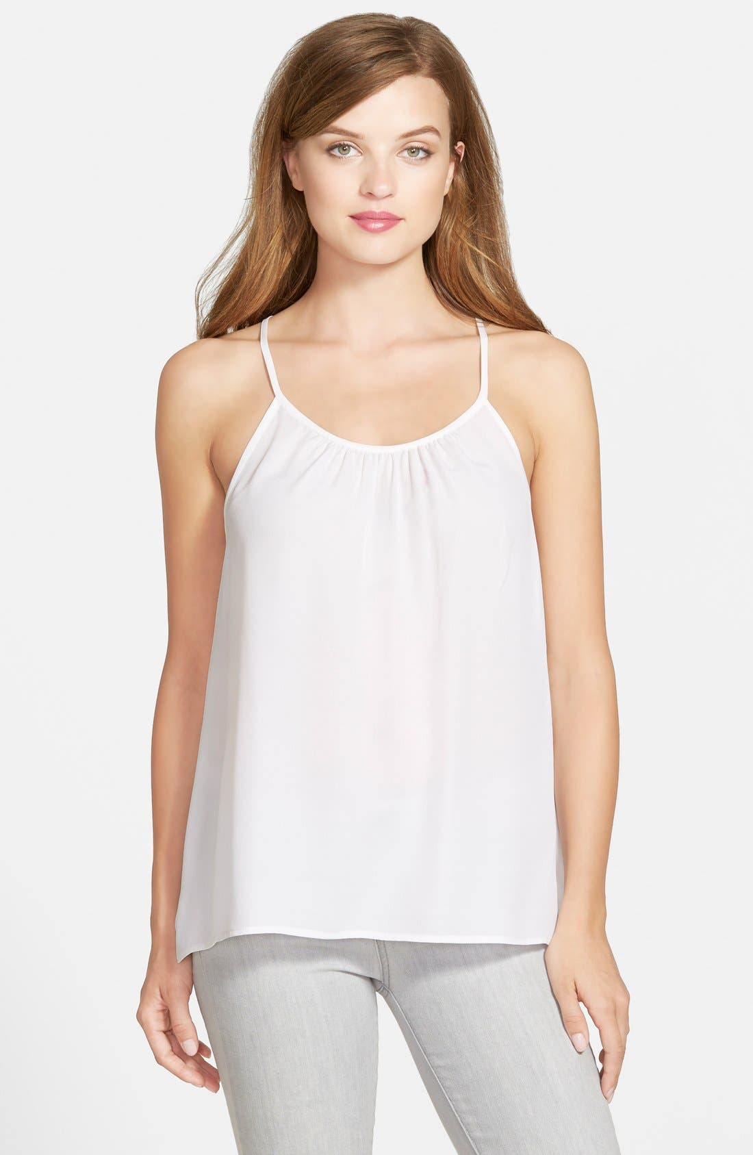 Alternate Image 1 Selected - Rebecca Minkoff 'Lizzy' Sleeveless Silk Top