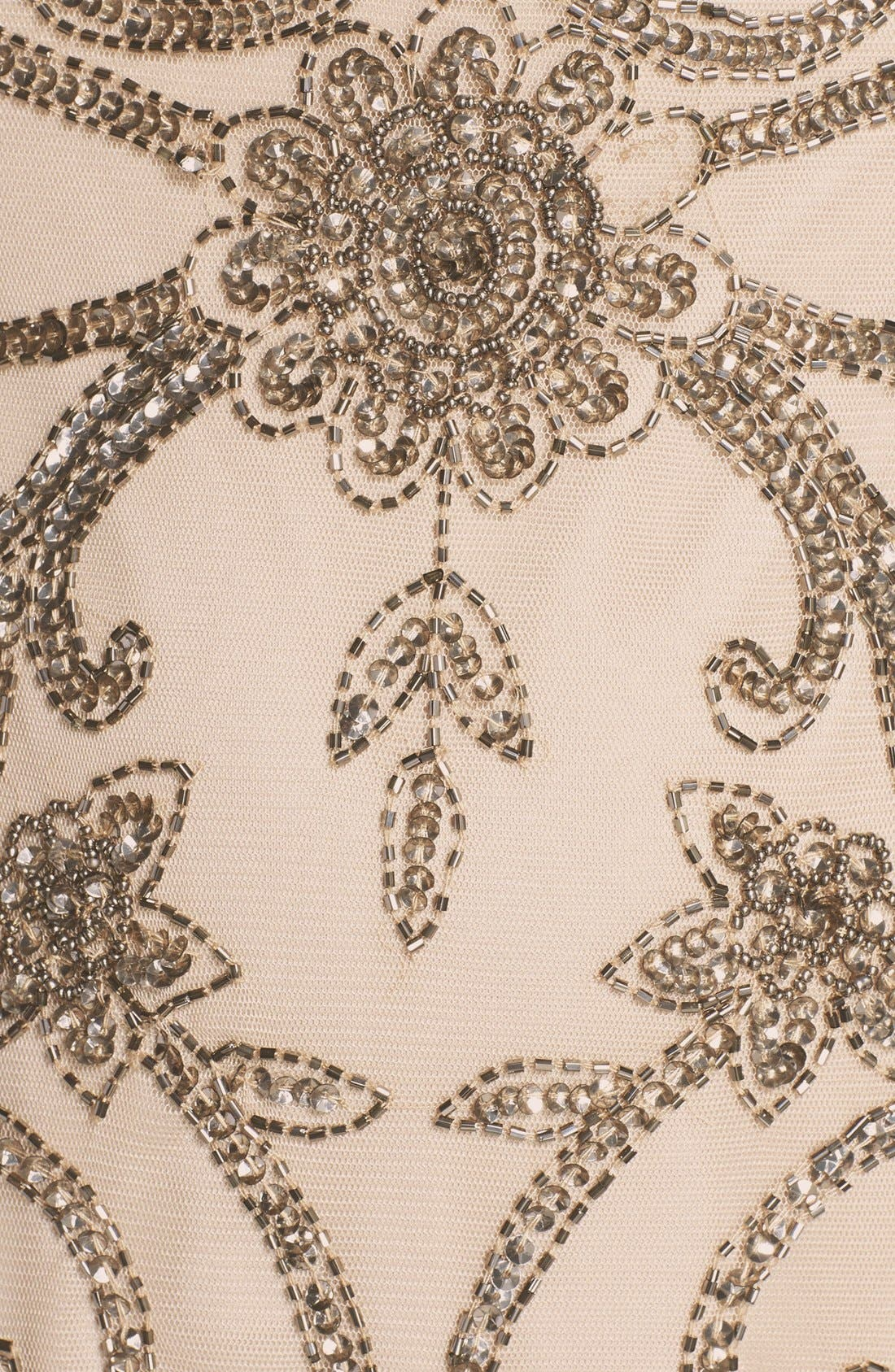 Alternate Image 3  - Adrianna Papell Beaded Cap Sleeve Trumpet Gown