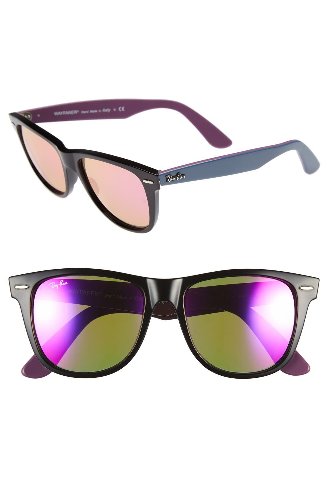 Alternate Image 1 Selected - Ray-Ban 'Wayfarer' 54mm Sunglasses