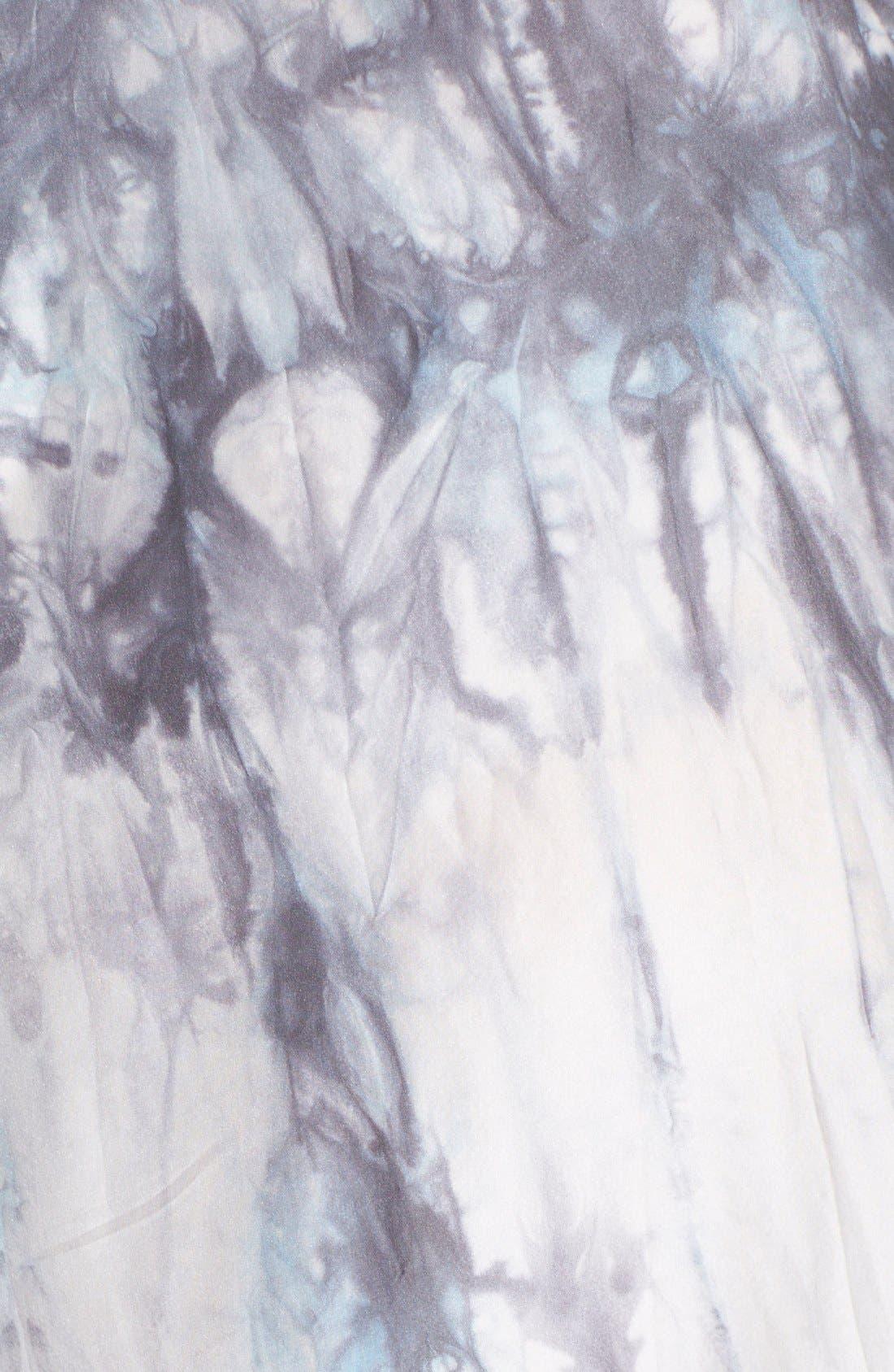 Alternate Image 3  - Free People 'Shadow' Tie Dye Silk Dress