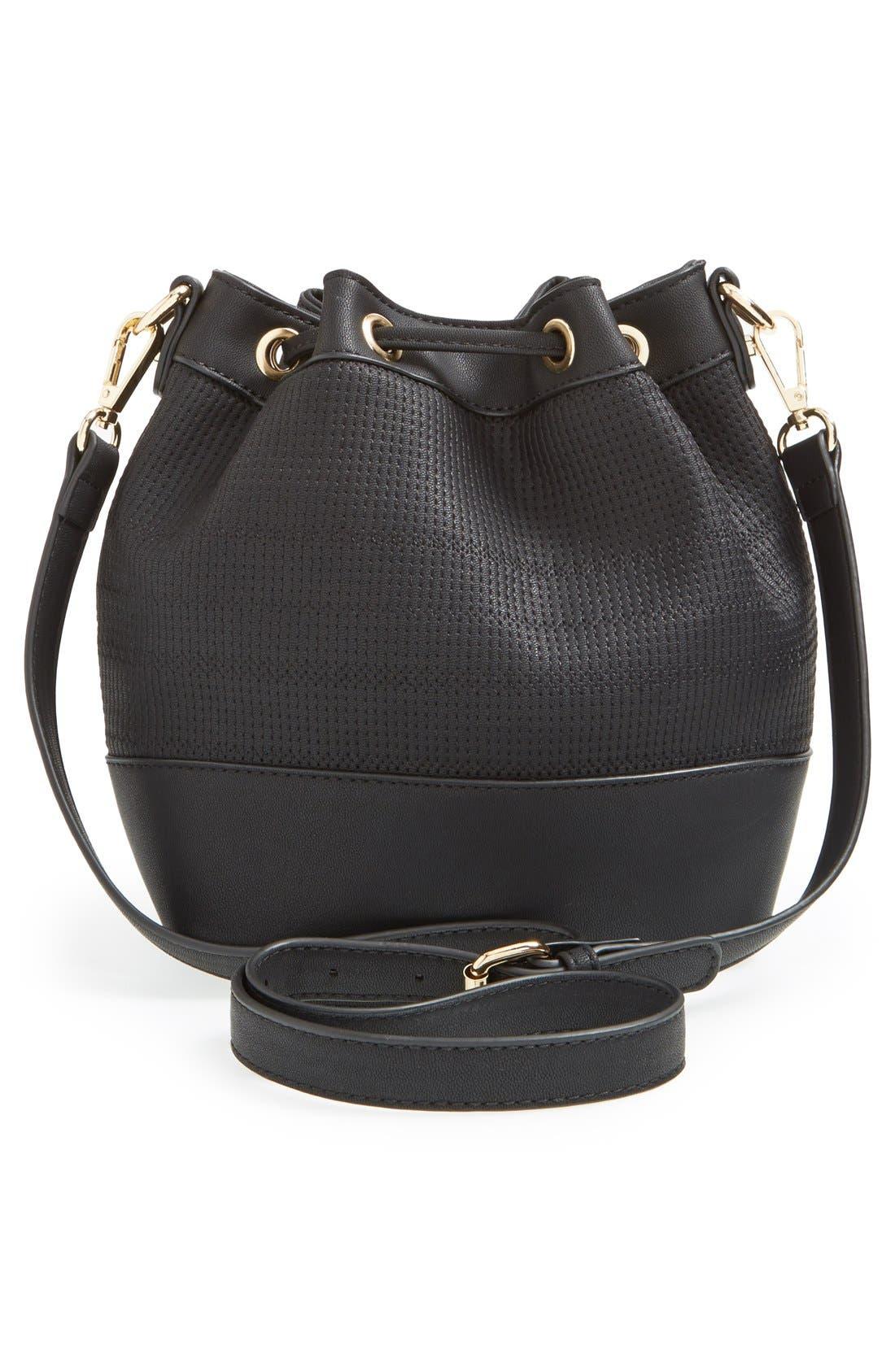 Alternate Image 4  - BP. Faux Leather Bucket Bag