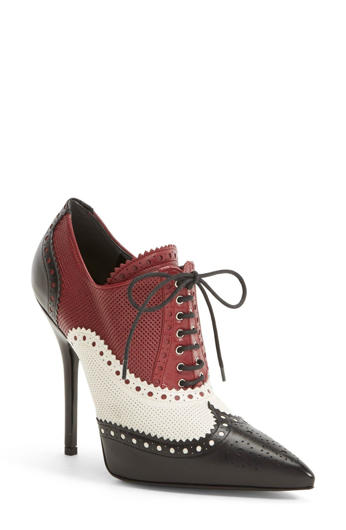 Alternate Image 1 Selected - Gucci 'Gia' Pointy Toe Bootie (Women)