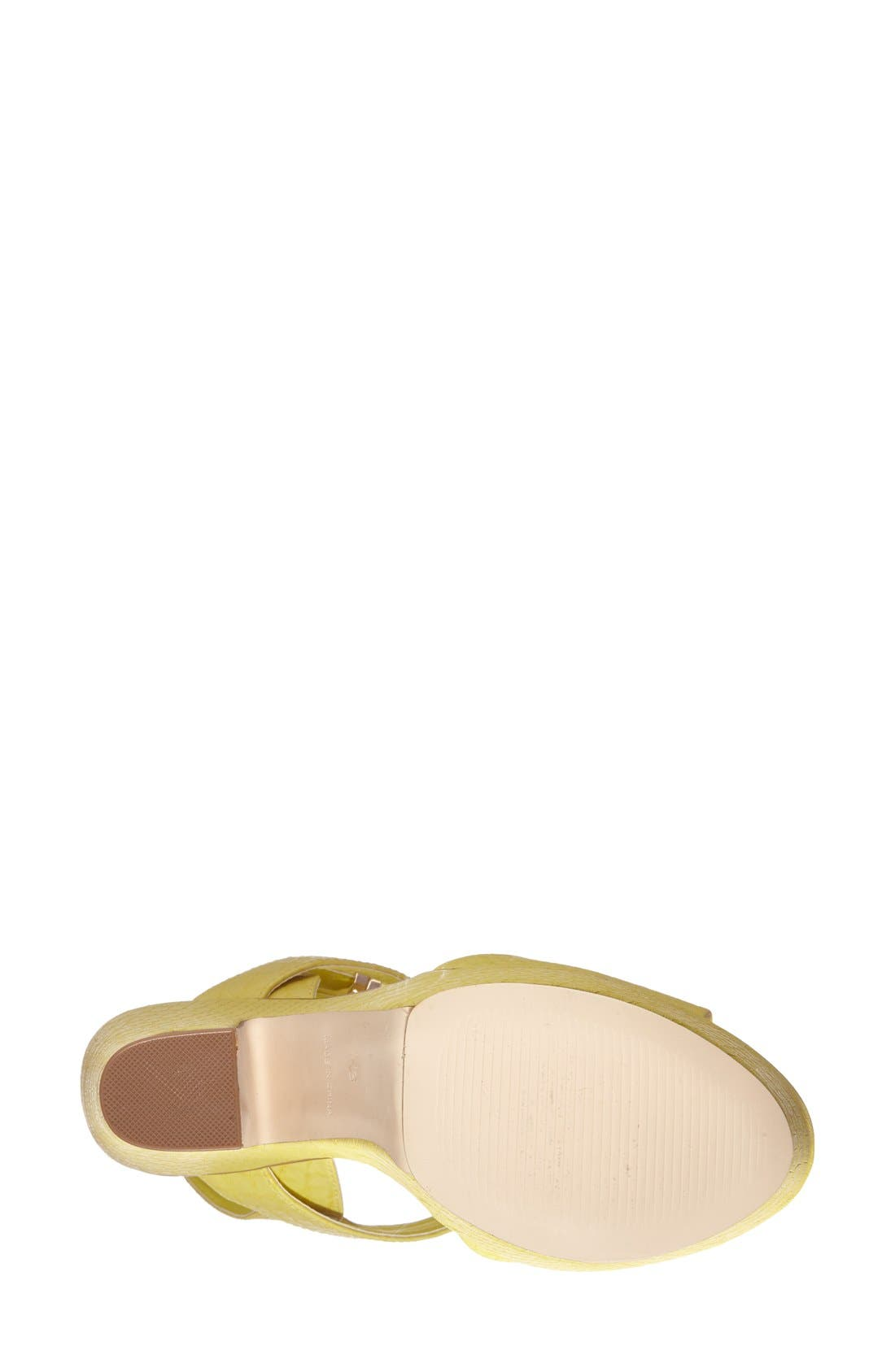 Alternate Image 4  - Topshop 'Lenni2' Platform Sandal (Women)