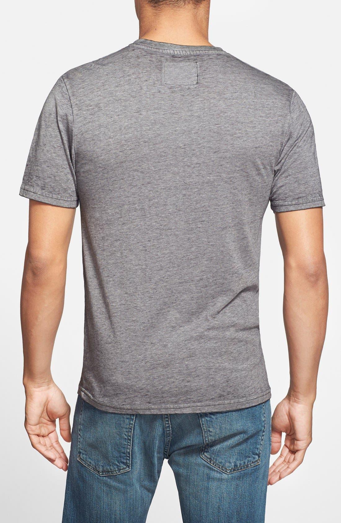 Alternate Image 2  - Red Jacket Trim Fit V-Neck T-Shirt