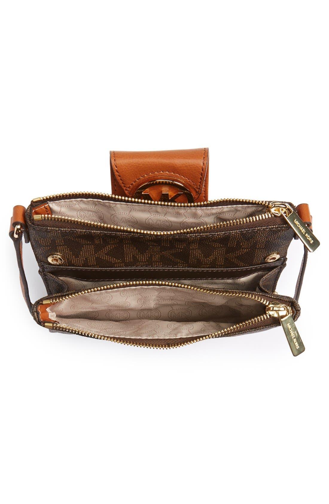 Alternate Image 4  - MICHAEL Michael Kors 'Fulton - Large' Crossbody Bag