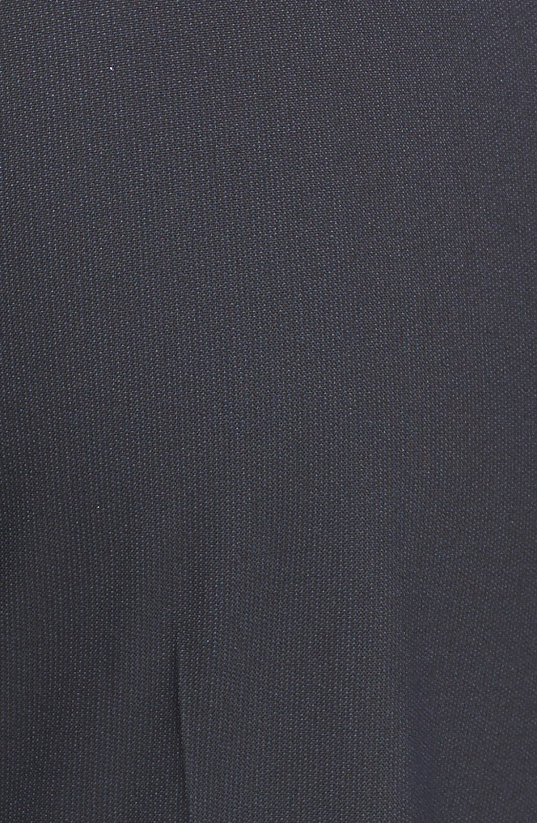 Alternate Image 3  - Halogen® 'Taylor' Lapis Pattern Suit Pants (Regular & Petite)