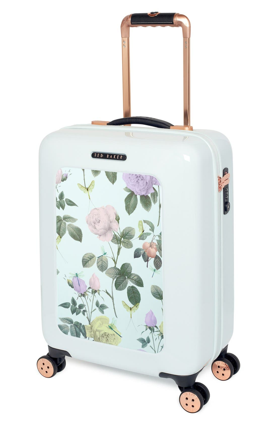 Alternate Image 4  - Ted Baker London 'Small Rose' Hard Shell Suitcase (22 Inch)