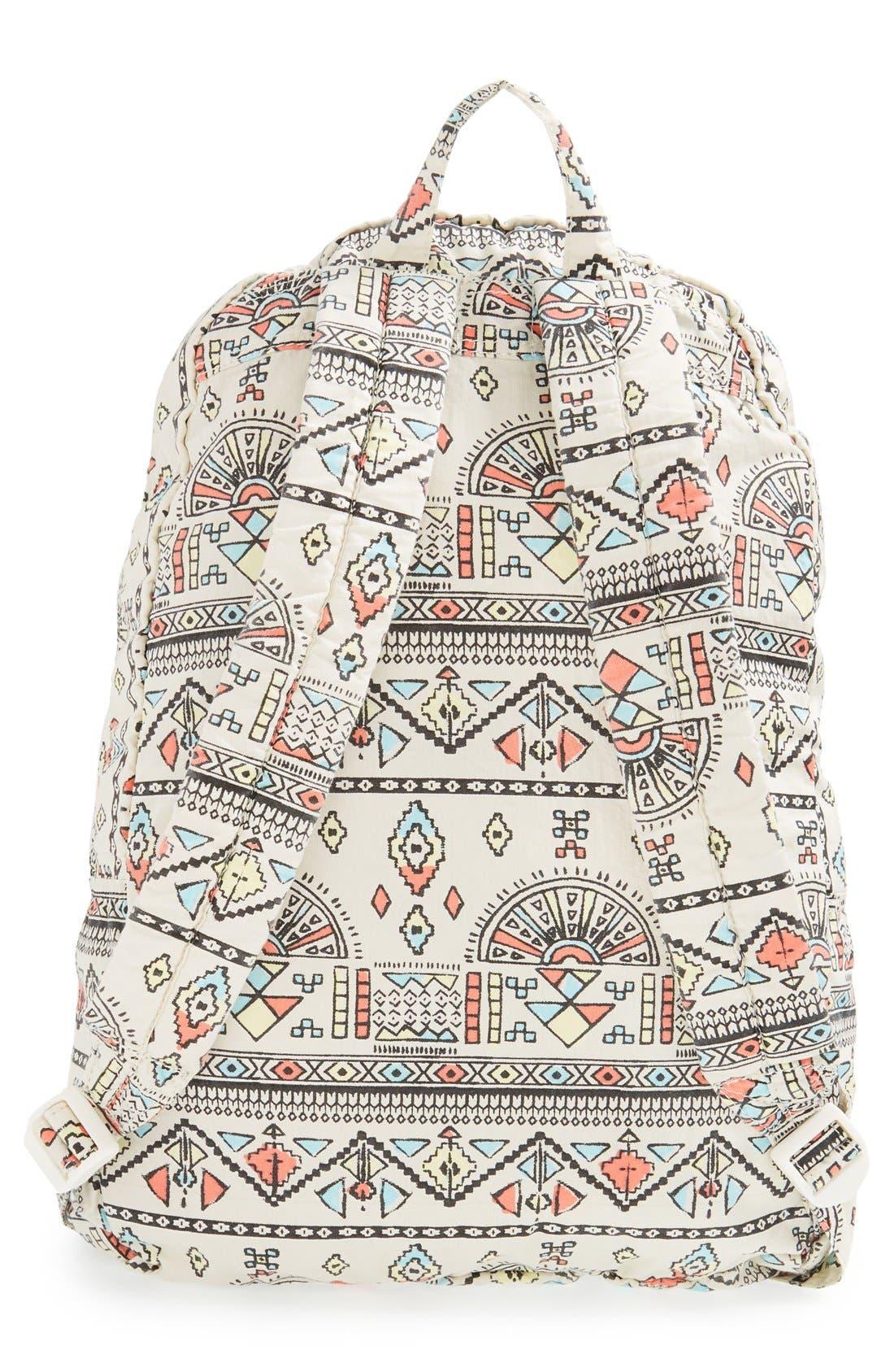 Alternate Image 4  - Billabong 'Hand Over Love' Geo Print Backpack