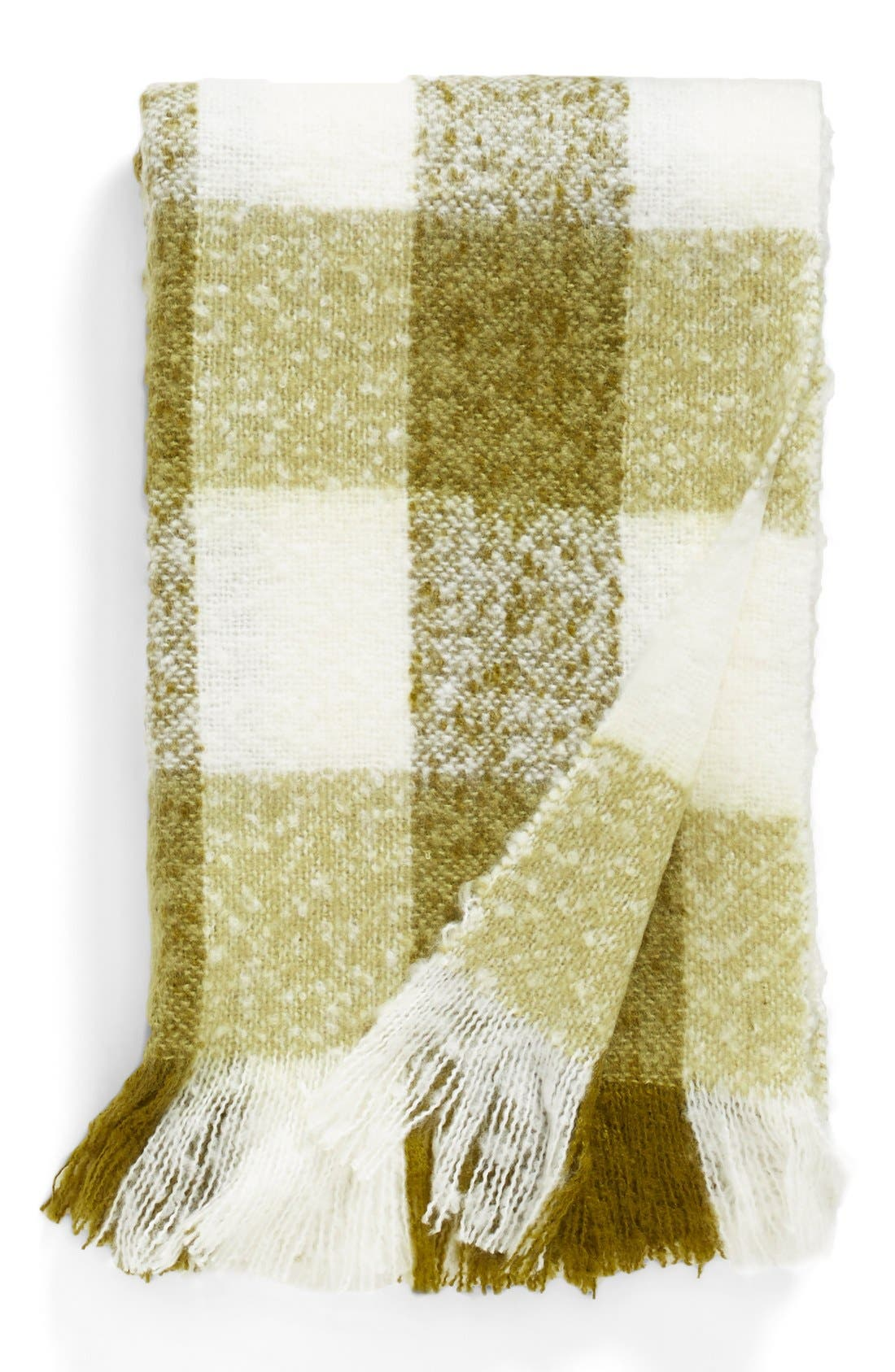 Alternate Image 1 Selected - Nordstrom at Home Plaid Throw
