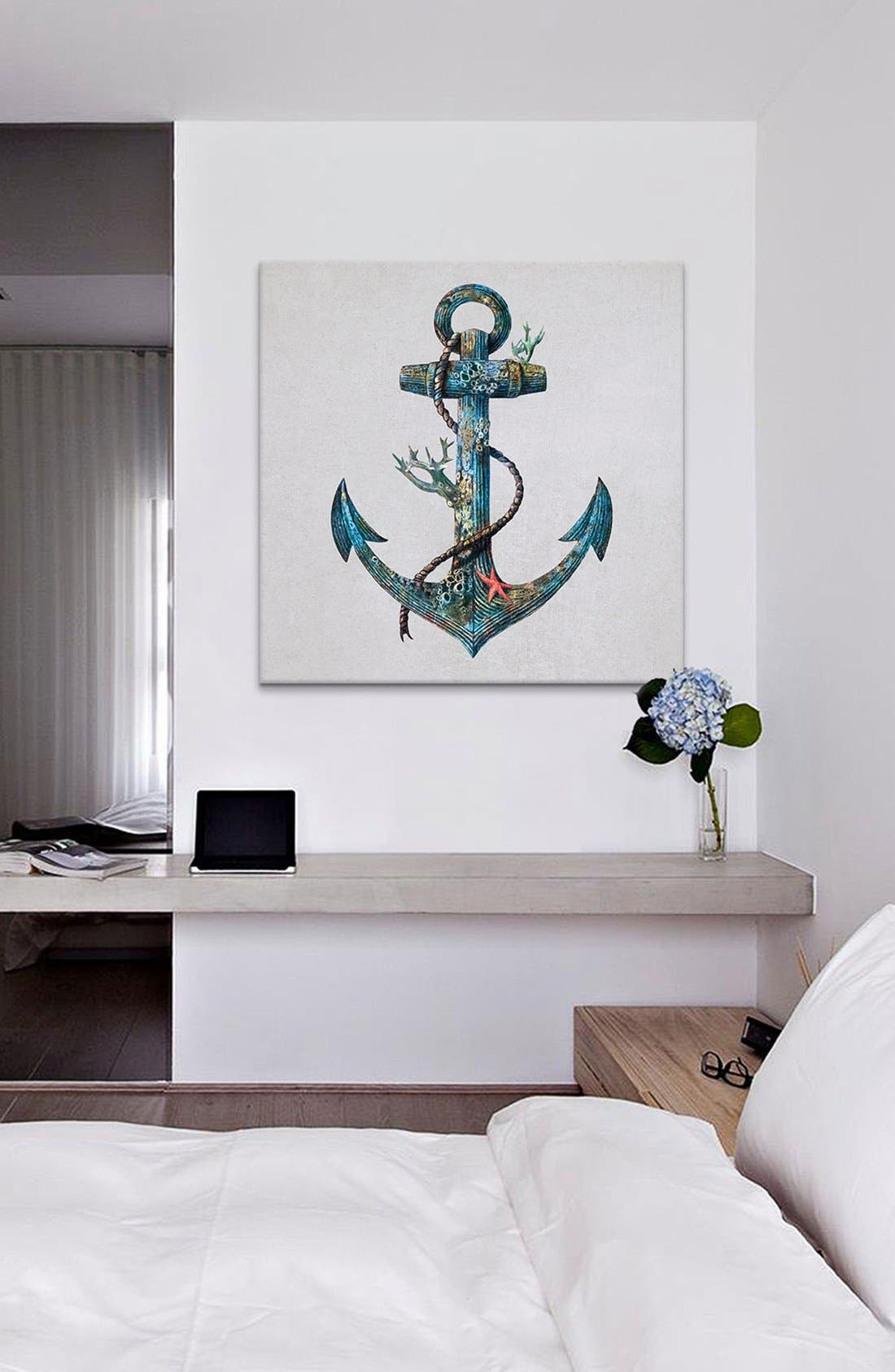 Alternate Image 2  - iCanvas 'Lost at Sea - Terry Fan' Giclée Print Canvas Art