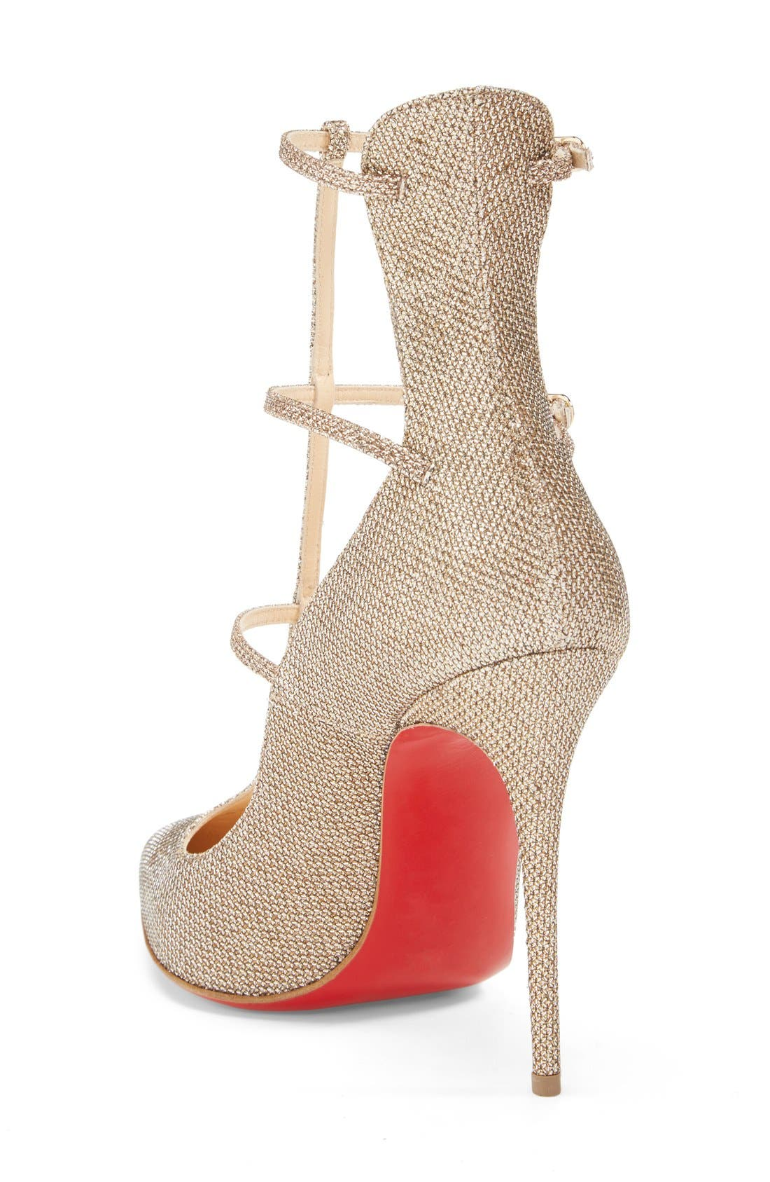 Alternate Image 2  - Christian Louboutin 'Toeless' Caged Pointy Toe Pump