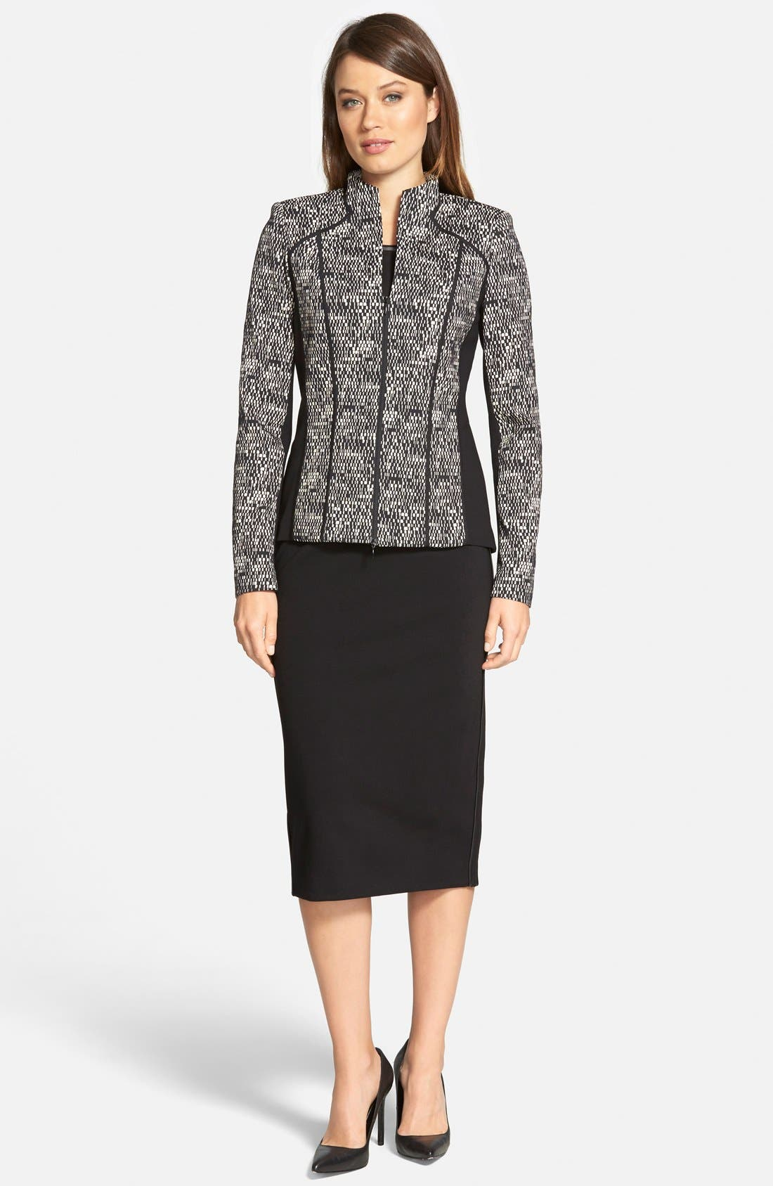 Alternate Image 4  - Lafayette 148 New York 'Amia' Jacket (Regular & Petite)