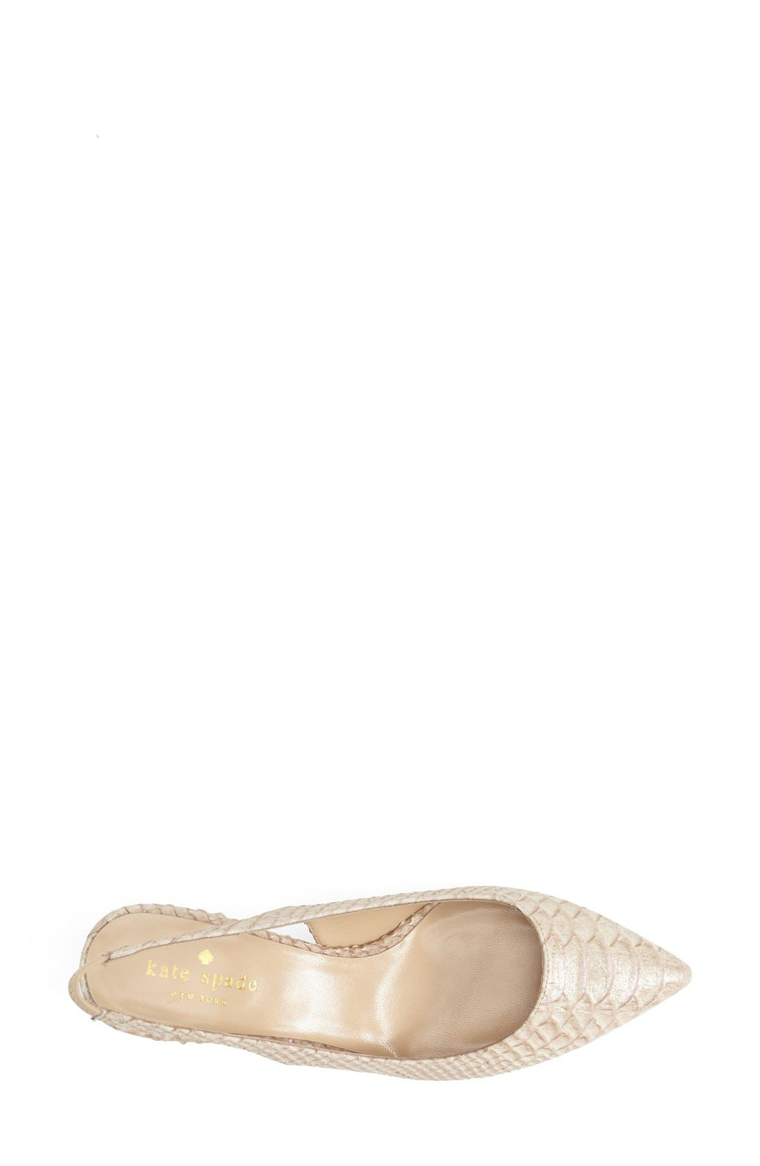 Alternate Image 3  - kate spade new york 'saia' slingback pump
