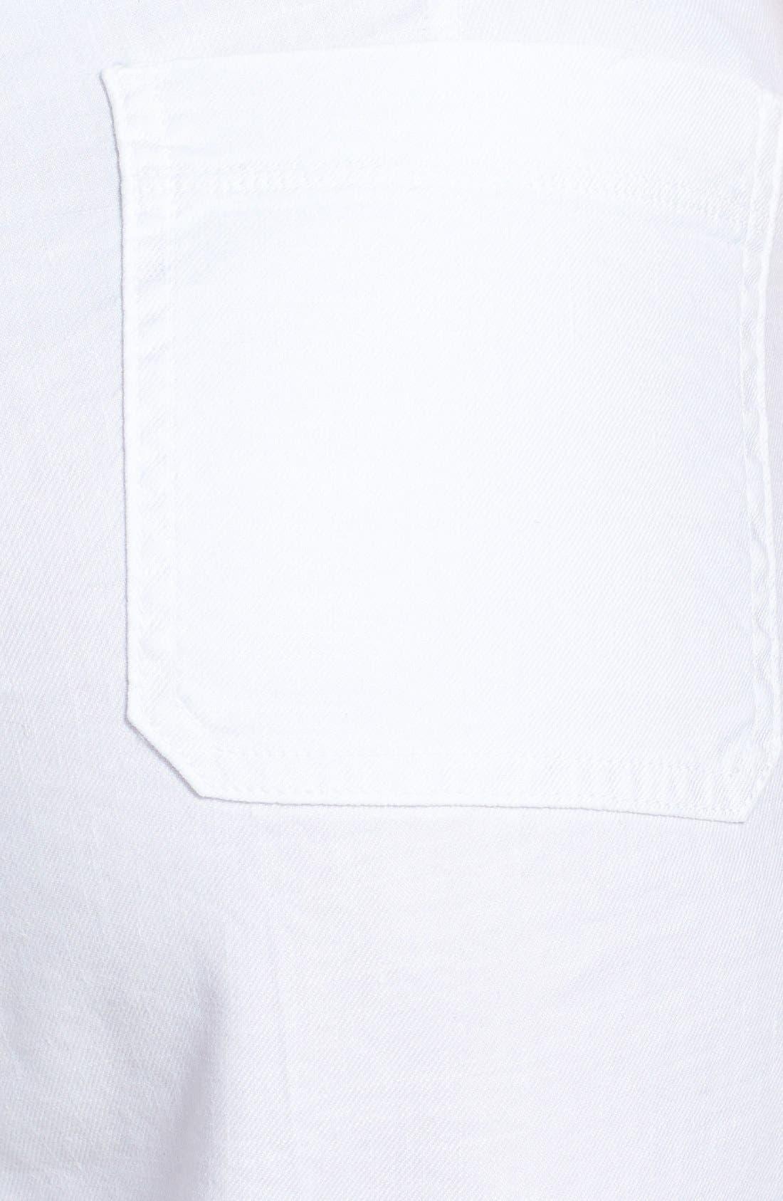 Alternate Image 3  - NYDJ 'Wylie' Stretch Linen Trousers (Plus Size)