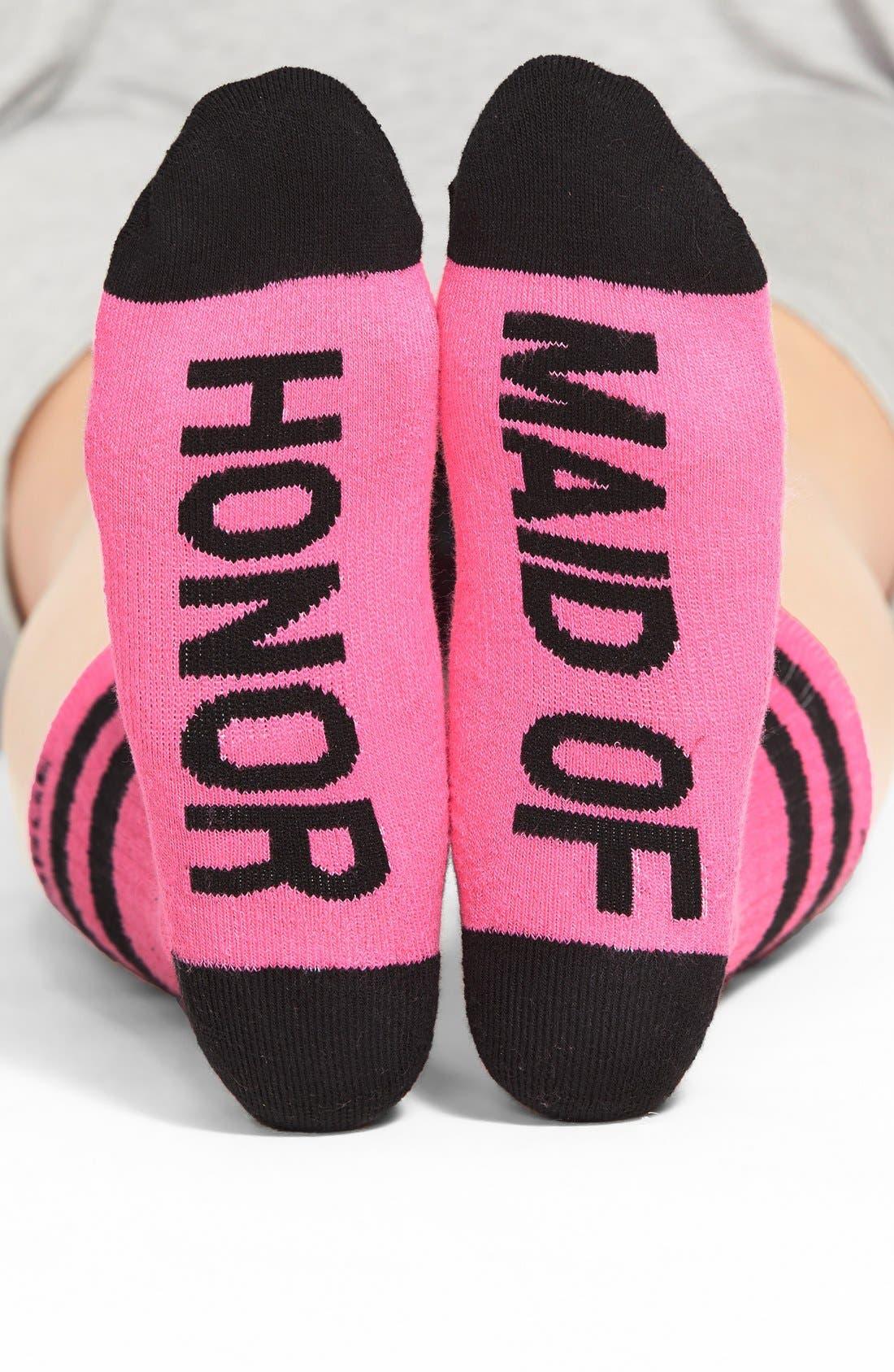 Main Image - Arthur George by R. Kardashian 'Maid of Honor' Crew Socks