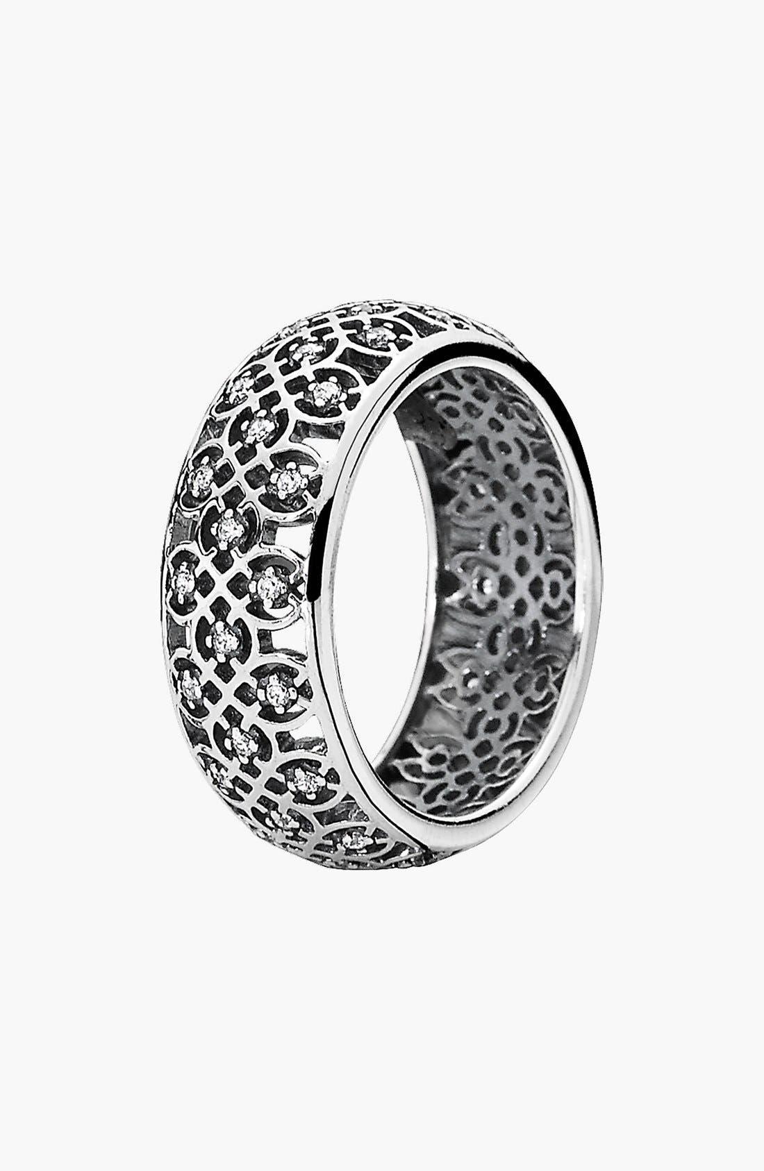 Alternate Image 1 Selected - PANDORA Lattice Ring