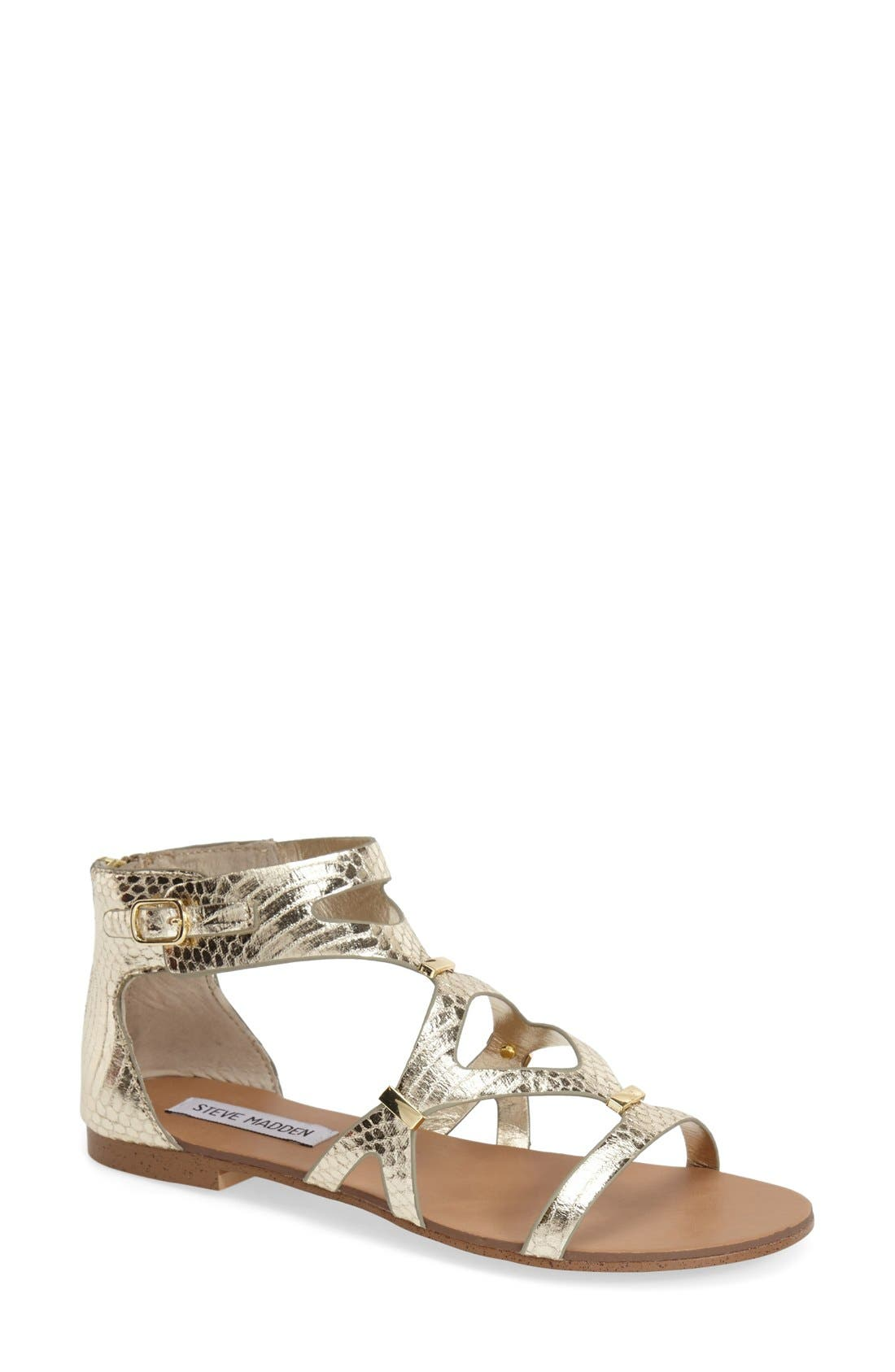 Alternate Image 1 Selected - Steve Madden 'Comly' Gladiator Sandal (Women)
