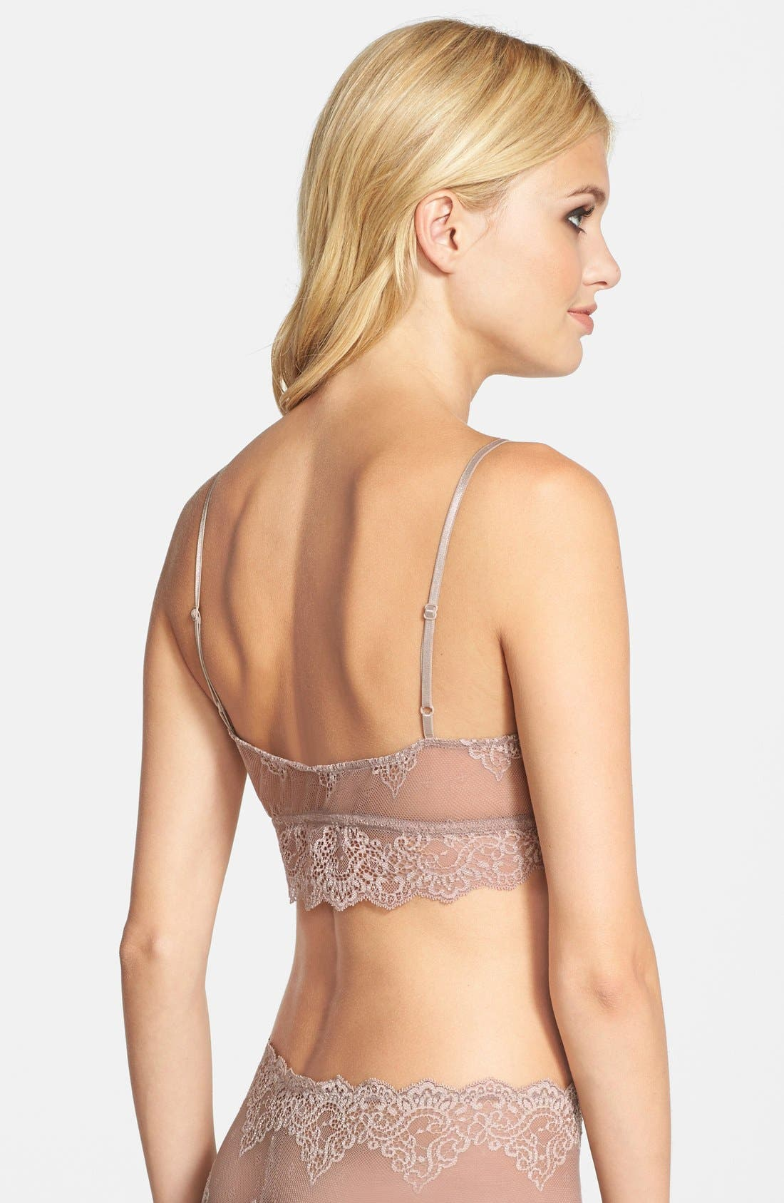 Alternate Image 2  - Only Hearts 'So Fine' Sheer Lace Bralette