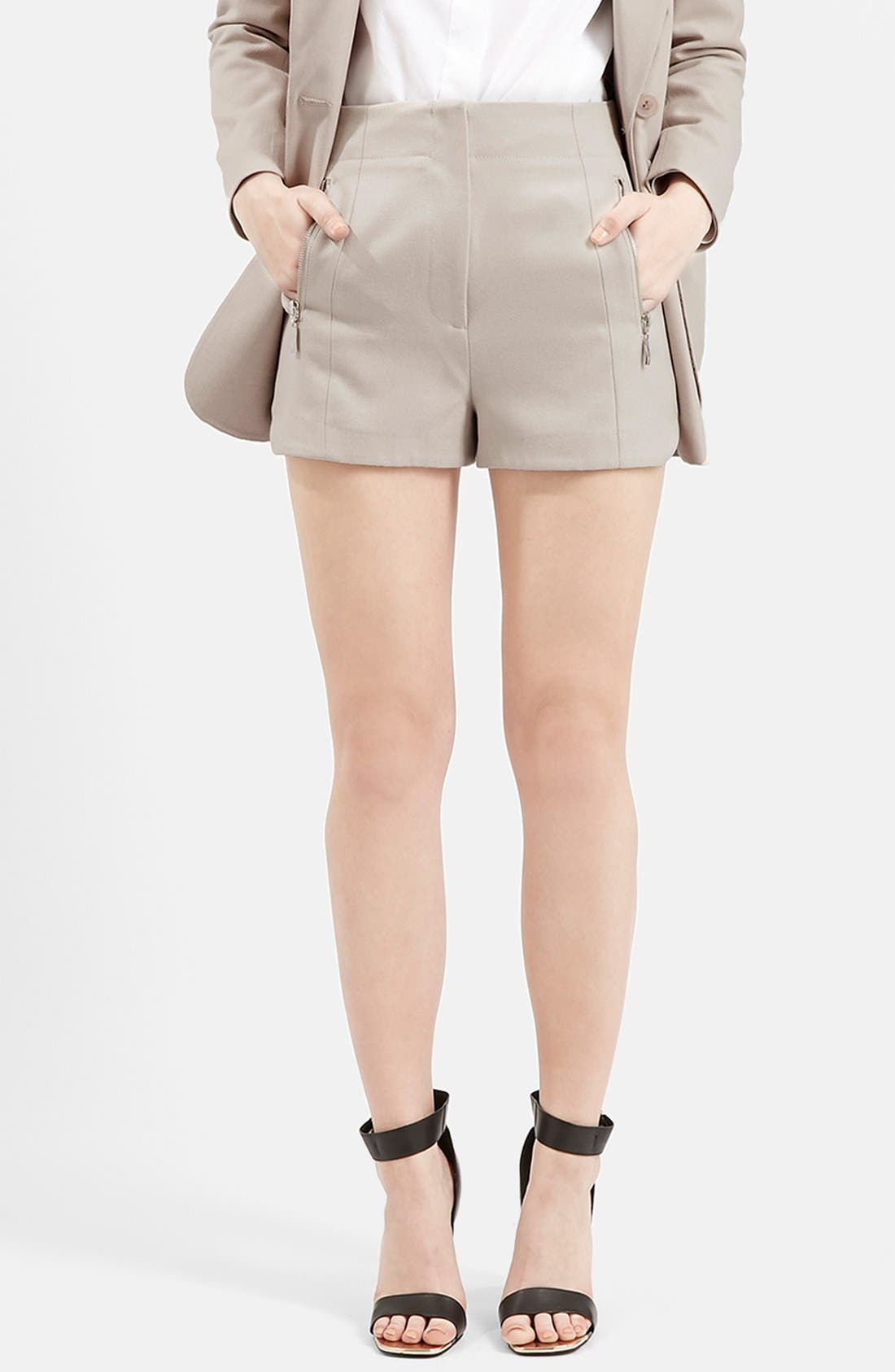 Alternate Image 1 Selected - Topshop Utility Shorts (Nordstrom Exclusive)