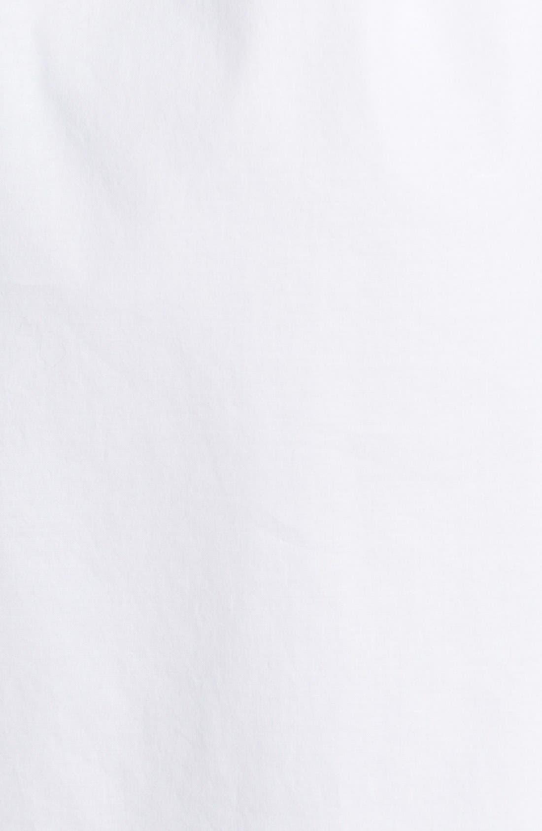 Alternate Image 3  - Theory 'Jalyis' Stretch Poplin Shirtdress
