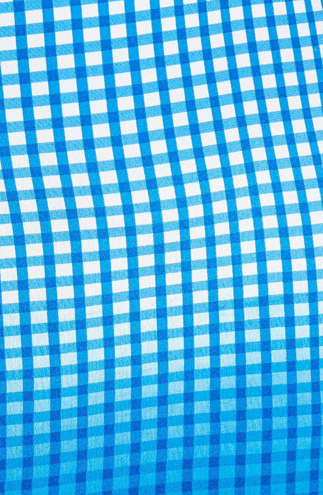 Alternate Image 3  - Bailey 44 'Astley' Dip Dye Check Silk Pencil Skirt