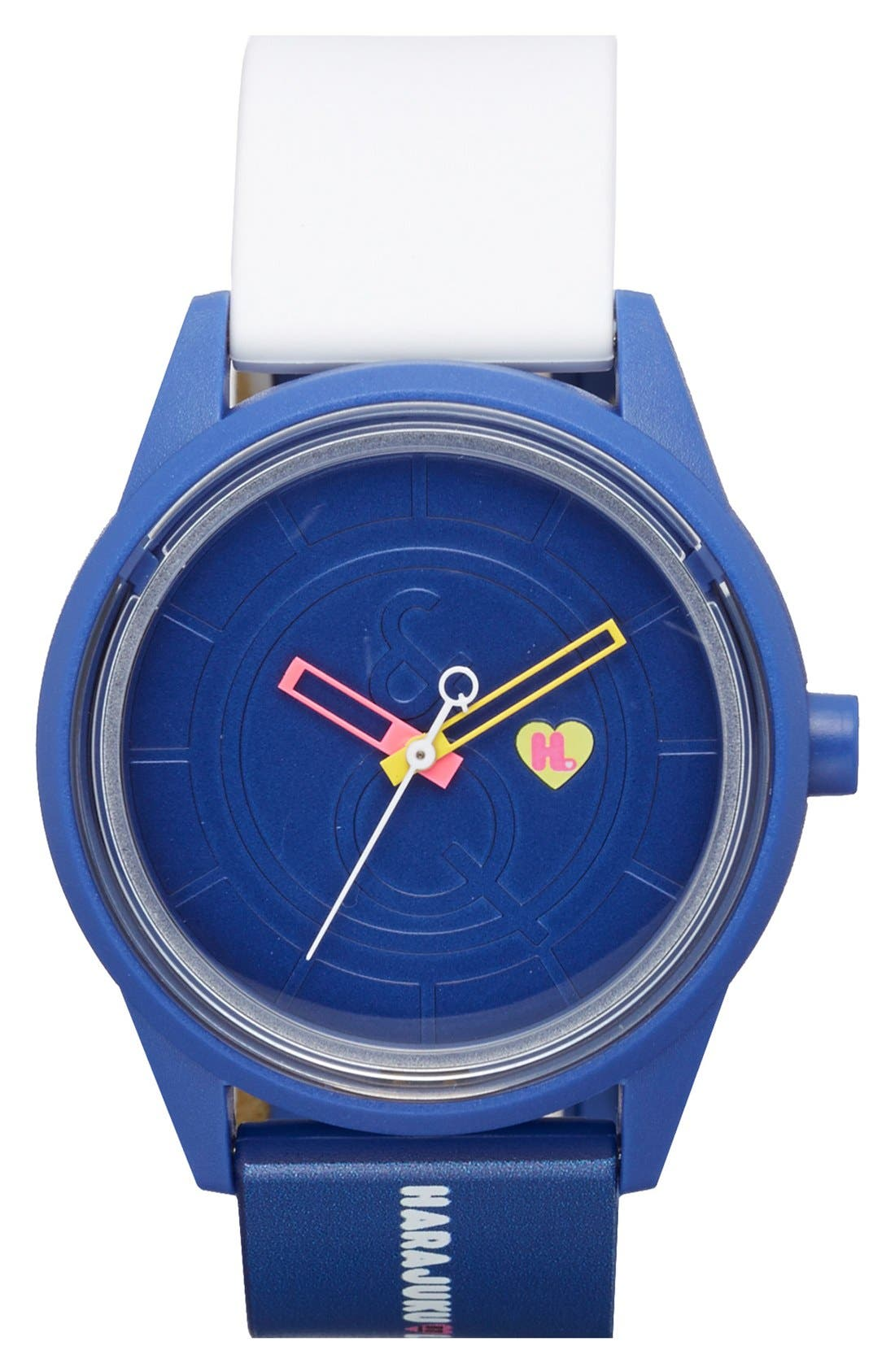 Main Image - Harajuku Lovers Resin Solar Watch, 40mm (Limited Edition)