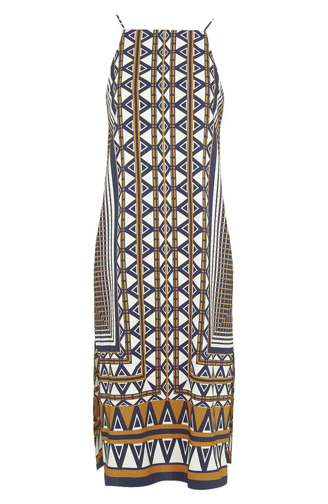 Alternate Image 3  - Topshop Stripe Print Midi Dress