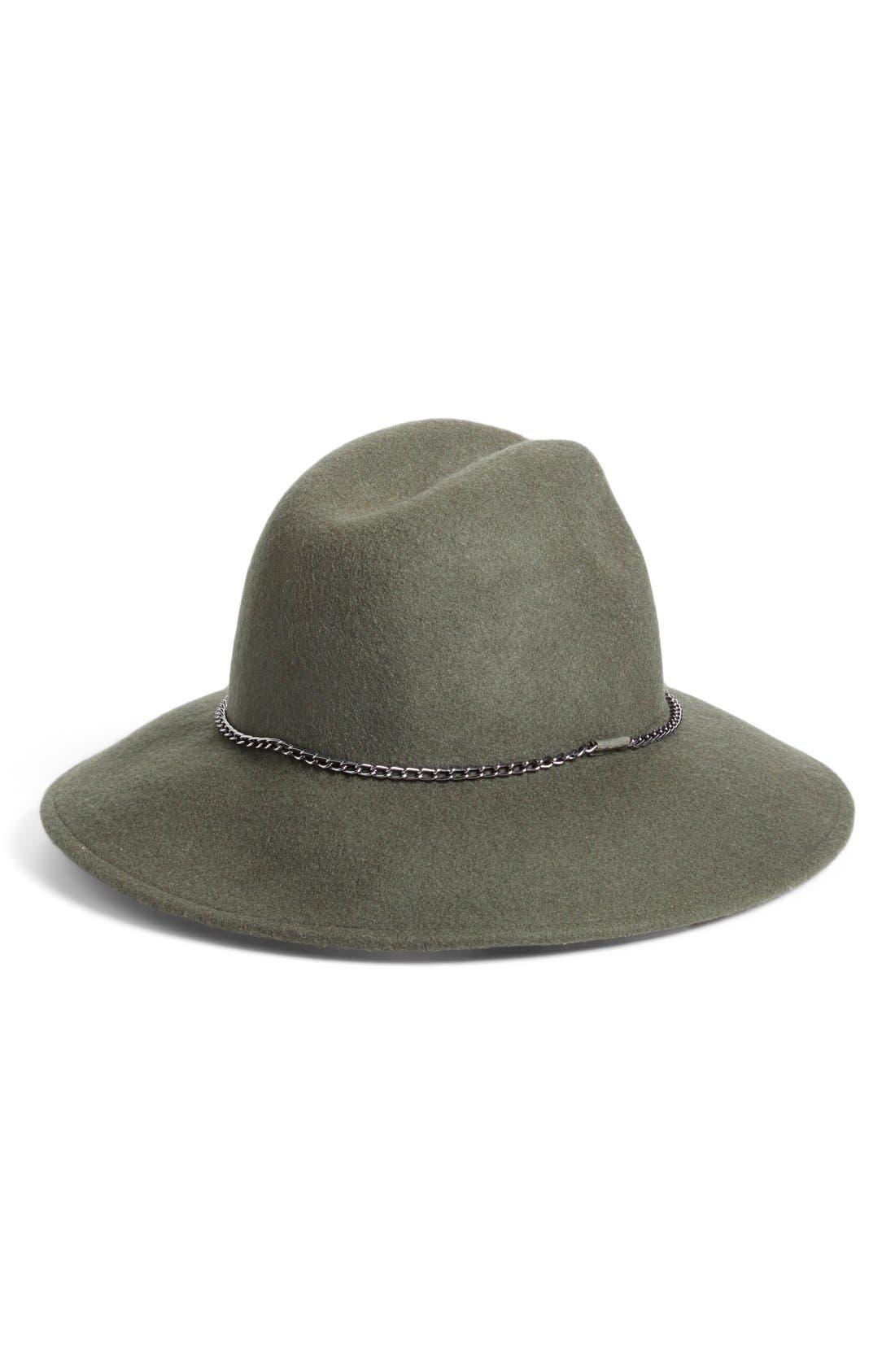 Alternate Image 2  - Nordstrom Chain Trim Panama Hat