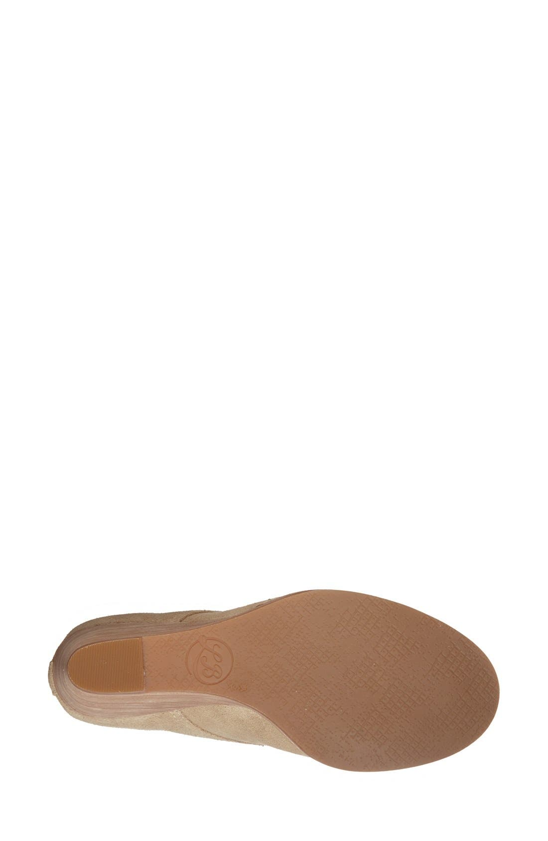 Alternate Image 4  - Lucky Brand 'Yoniana' Wedge Bootie (Women)