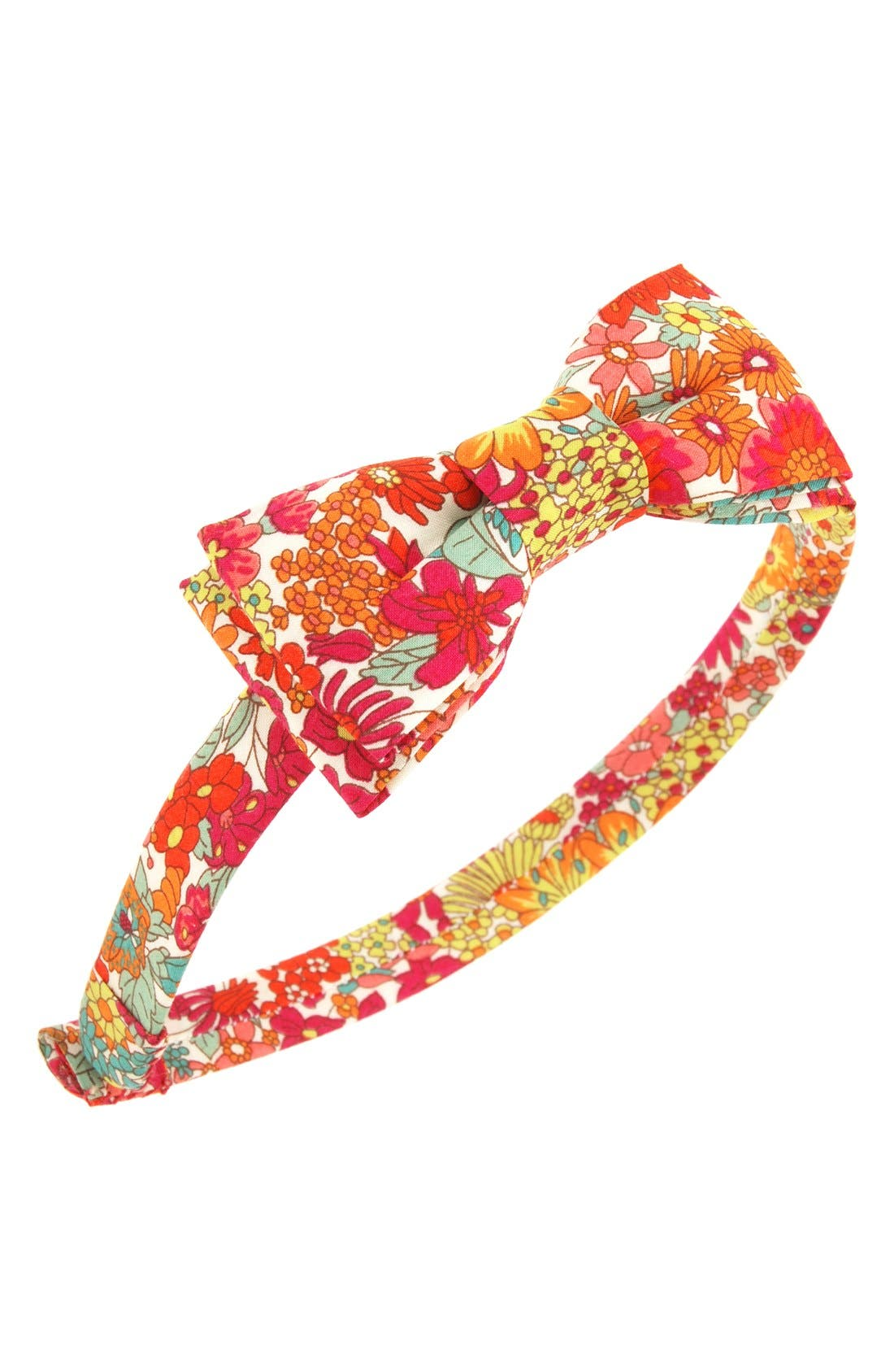 L. Erickson 'Blair' Silk Bow Headband (Girls)