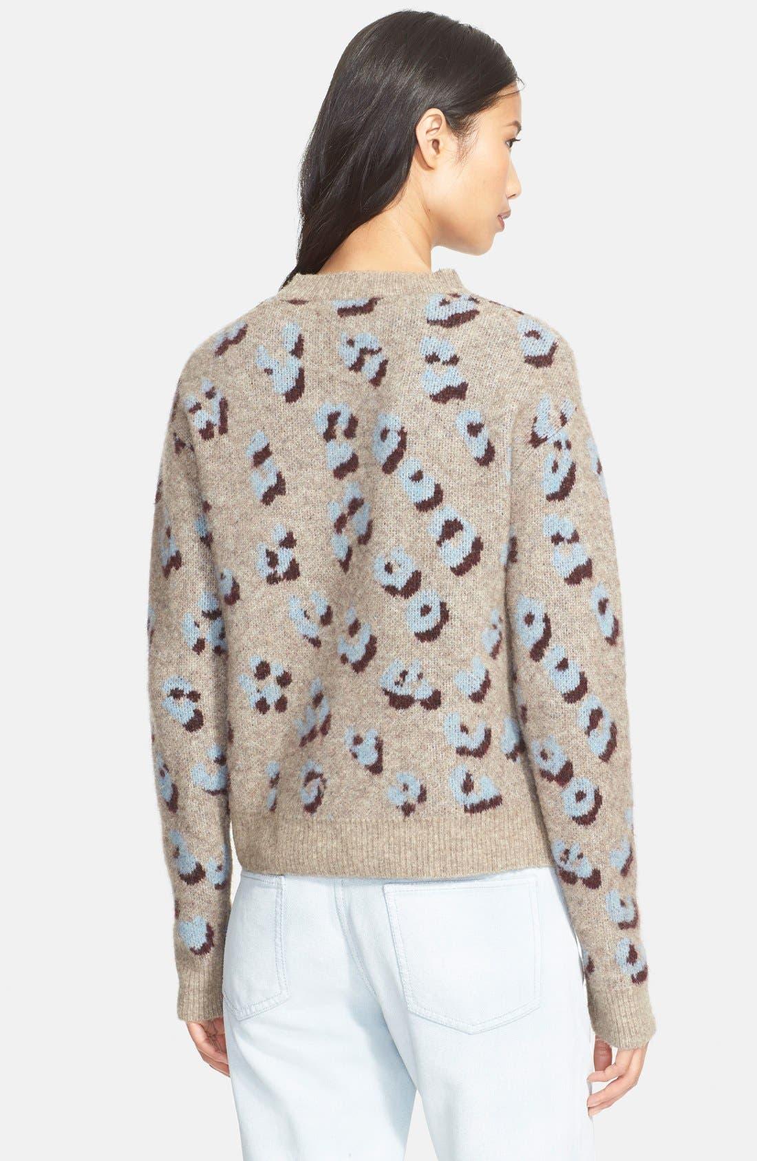 Alternate Image 2  - 3.1 Phillip Lim Leopard Jacquard Sweater