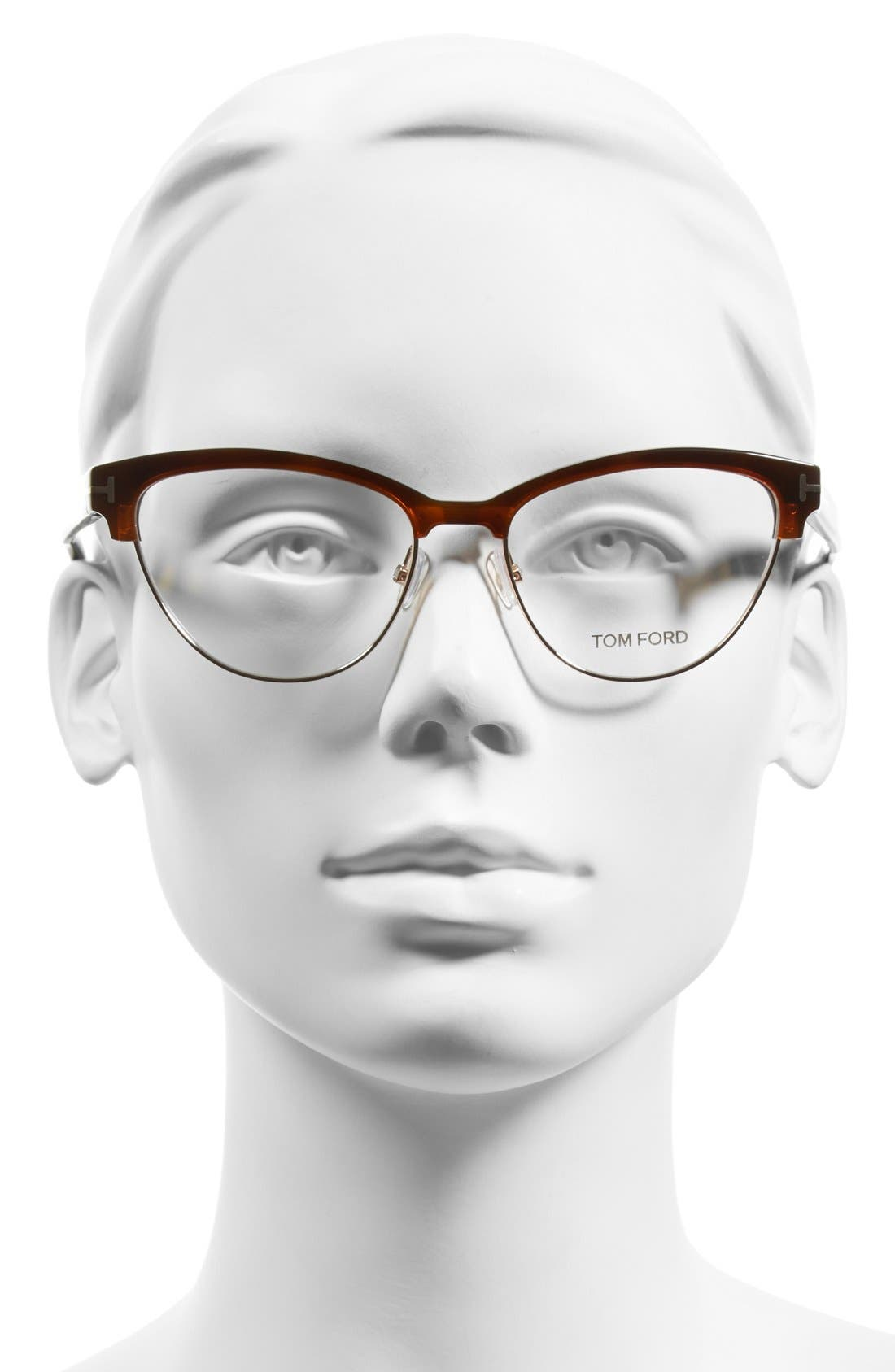 Alternate Image 2  - Tom Ford 54mm Optical Glasses