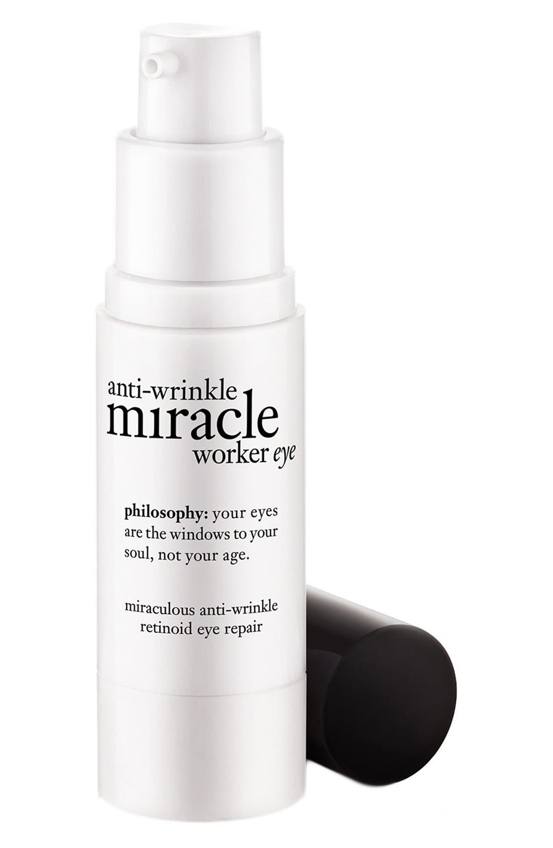 philosophy anti-wrinkle miracle worker eye miraculous anti-wrinkle retinoid eye repair