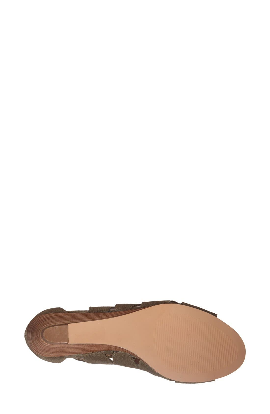 Alternate Image 4  - Sole Society 'Freyaa' Wedge Sandal (Women)