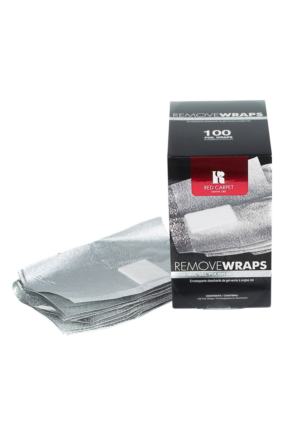 Red Carpet Manicure 'Remove Wraps' LED Gel Polish Remover Foils
