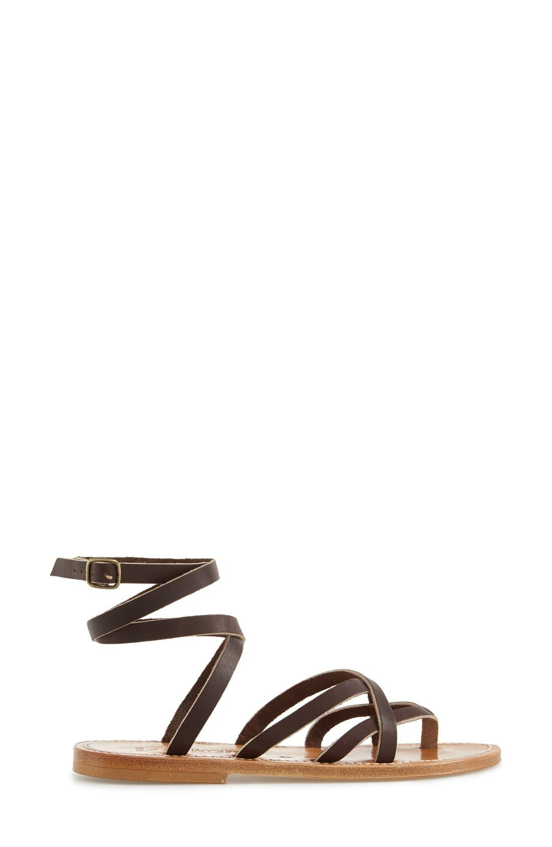 Alternate Image 4  - K.Jacques St. Tropez 'Zenobie' Ankle Wrap Sandal (Women)