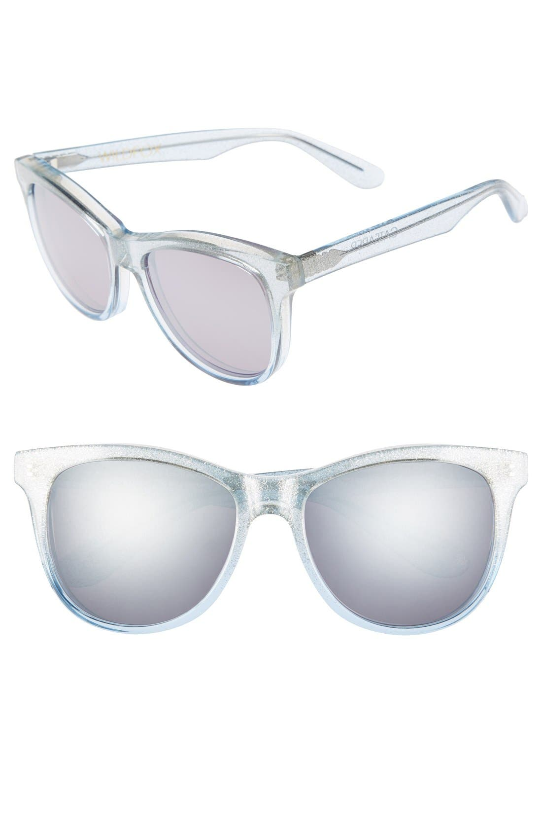 Alternate Image 1 Selected - Wildfox 'Catfarer Deluxe' 53mm Sunglasses