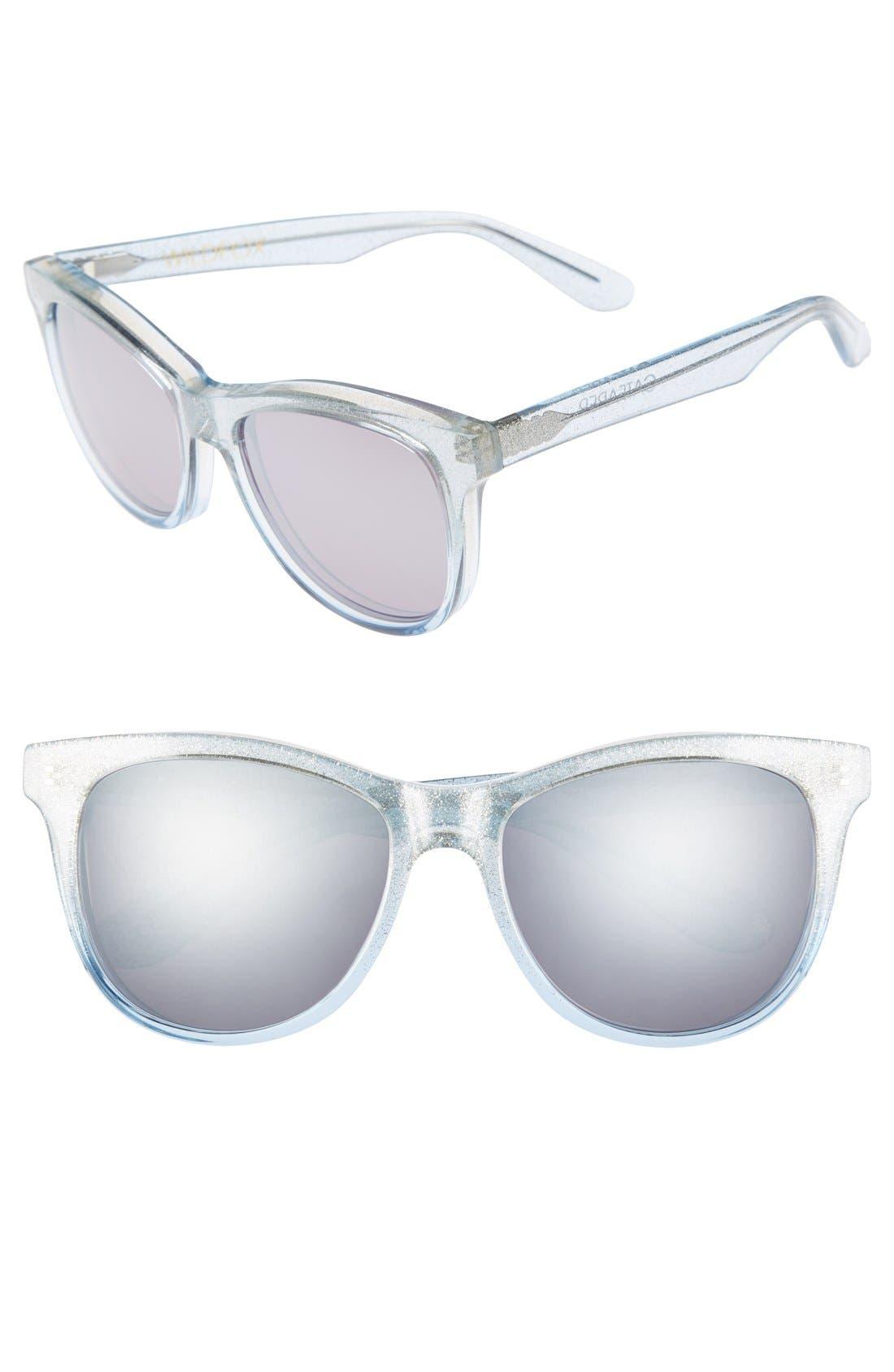 Main Image - Wildfox 'Catfarer Deluxe' 53mm Sunglasses