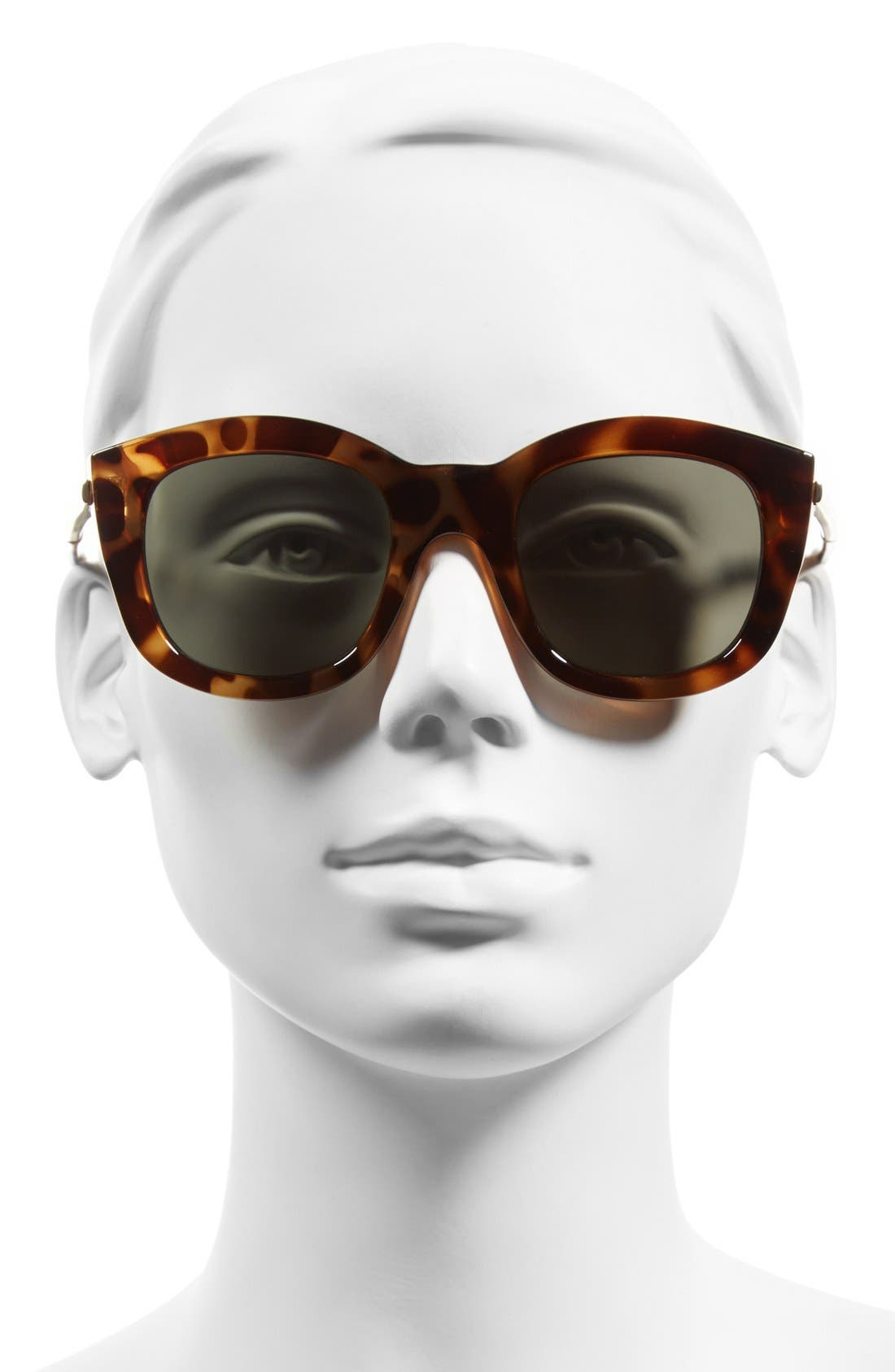 Alternate Image 2  - Le Specs 'Runaways Luxe' 50mm Cat Eye Sunglasses