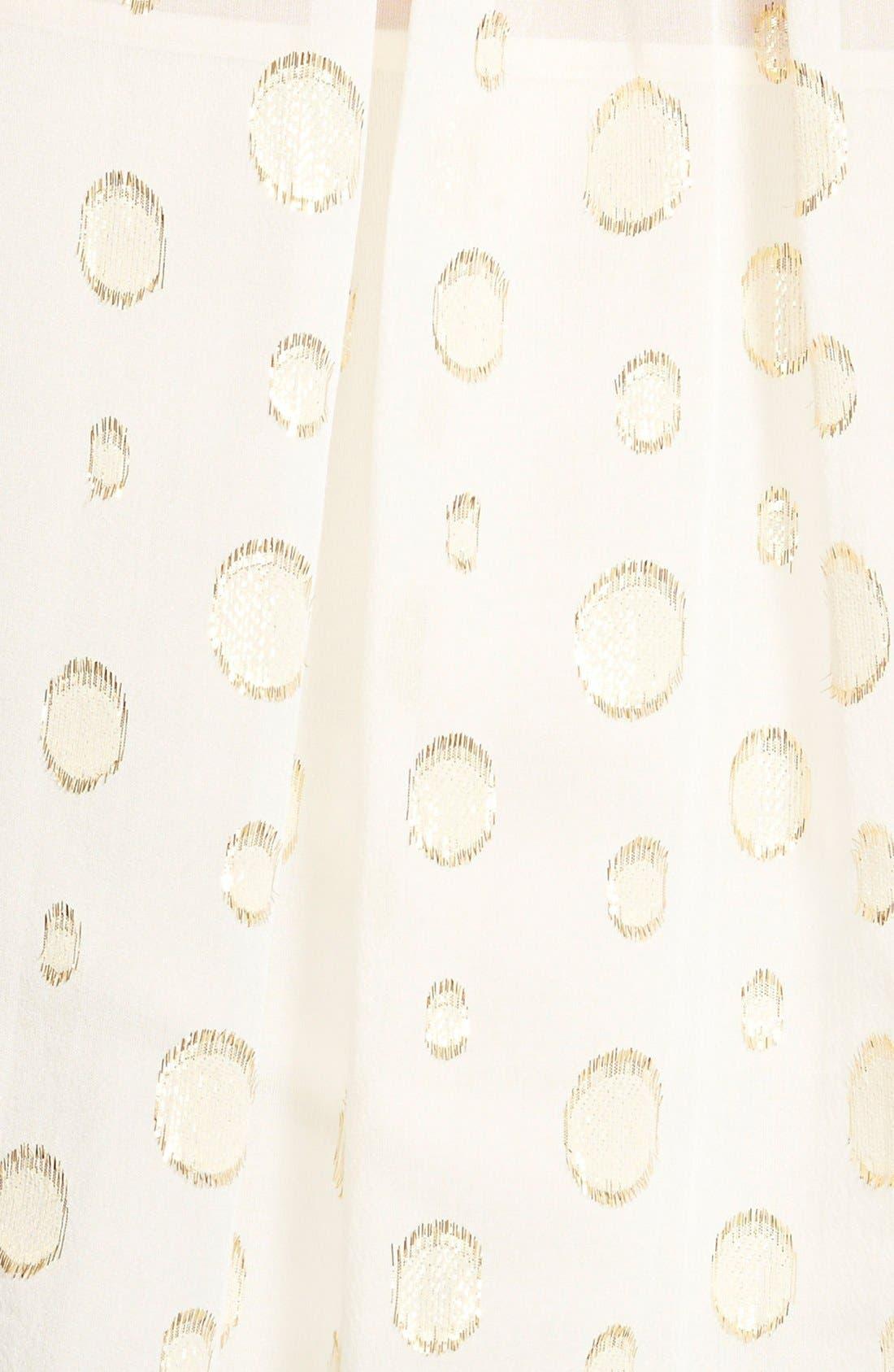Alternate Image 3  - MICHAEL MichaelKors'Leones Spot' Print Tie Neck Blouse