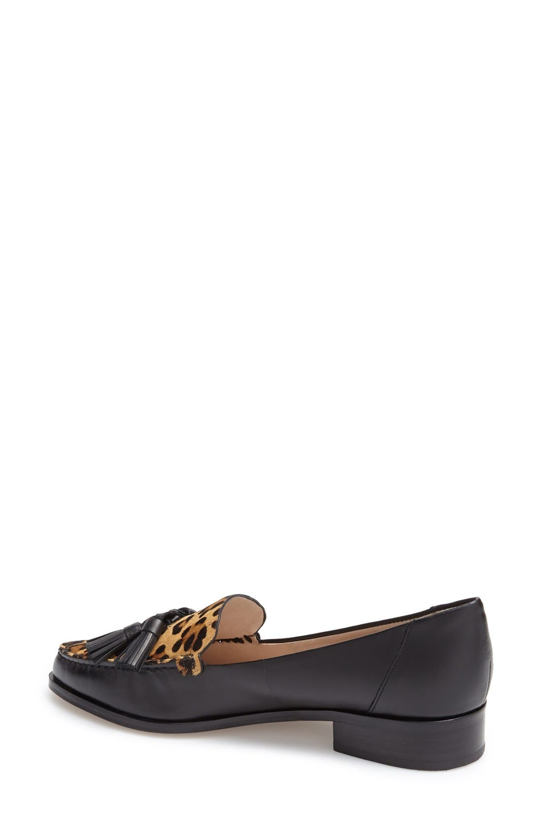 Alternate Image 2  - French Connection 'Lonnie' Tassel Loafer (Women)